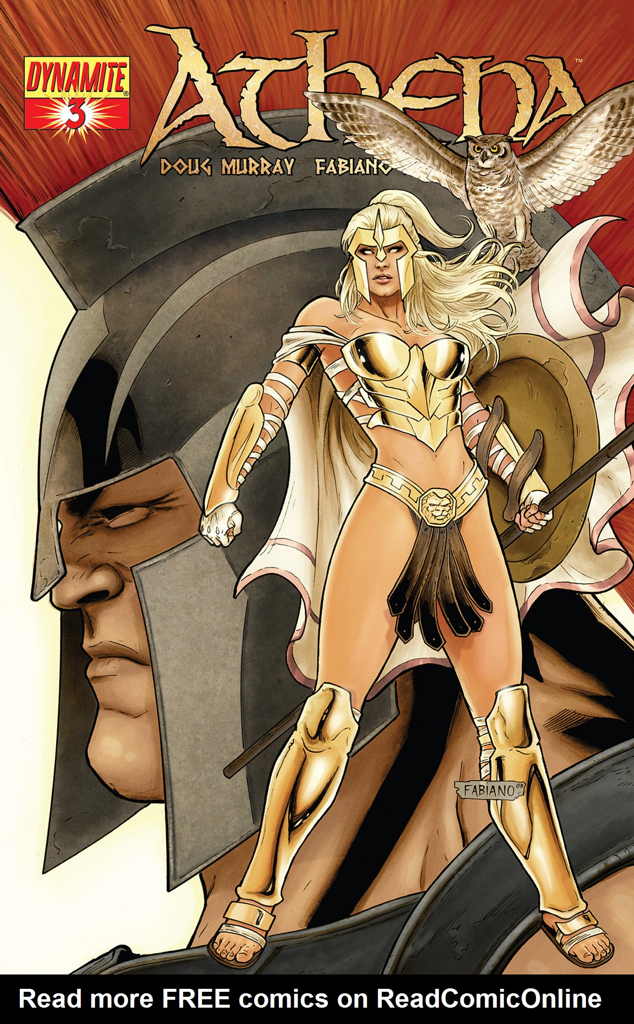 Read online Athena comic -  Issue #3 - 2