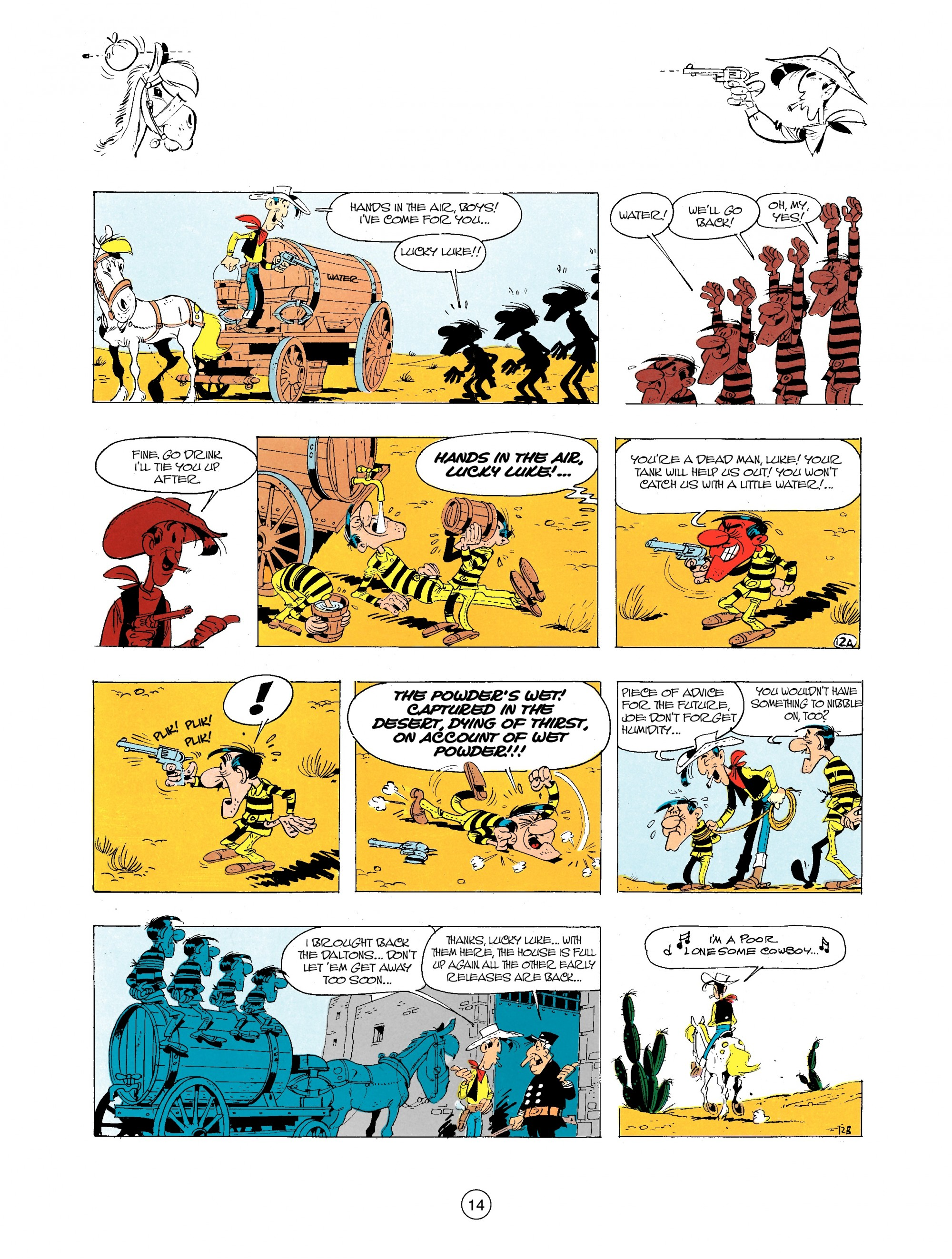 Read online A Lucky Luke Adventure comic -  Issue #34 - 14