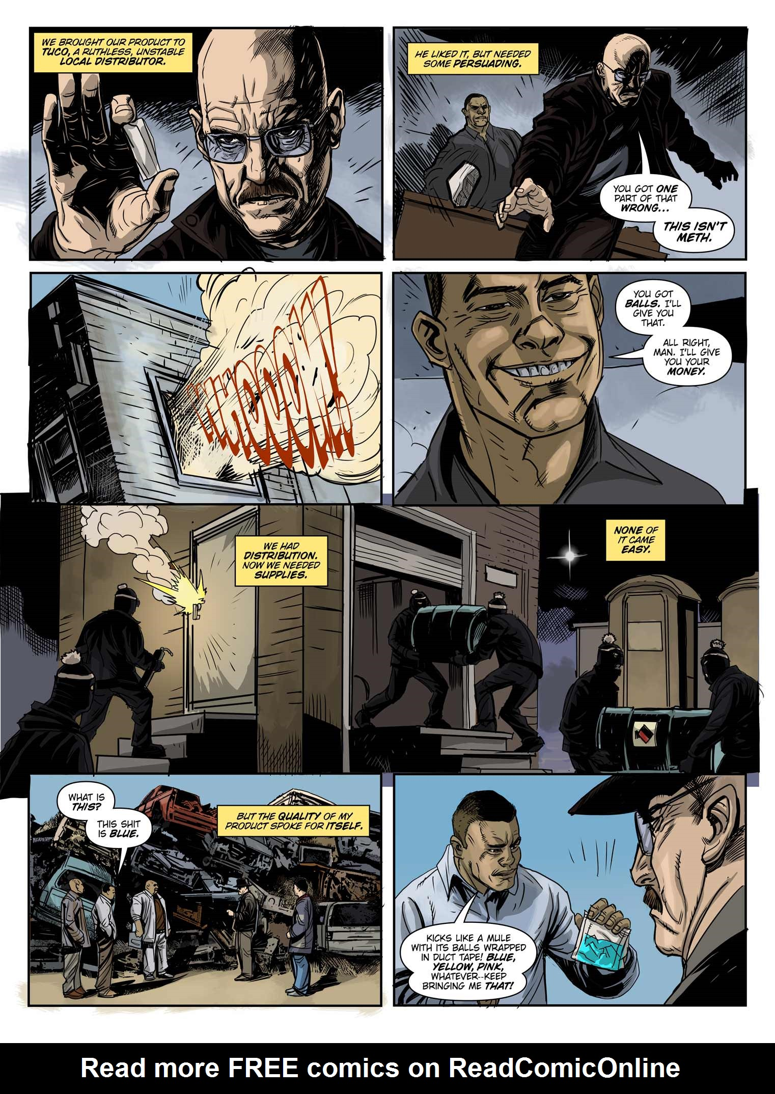 Read online Breaking Bad: All Bad Things comic -  Issue # Full - 5