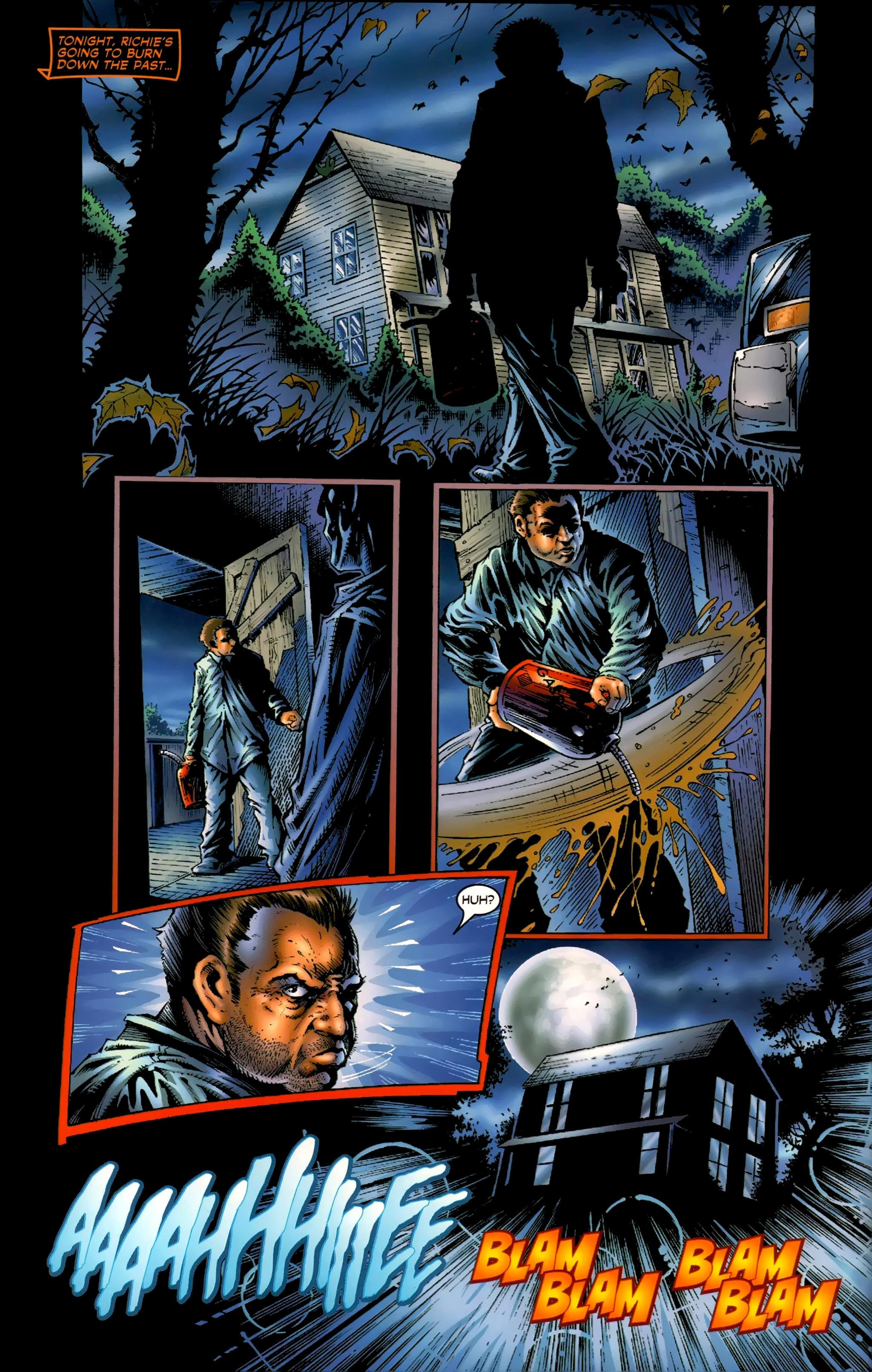 Read online Halloween II: The Blackest Eyes comic -  Issue # Full - 6