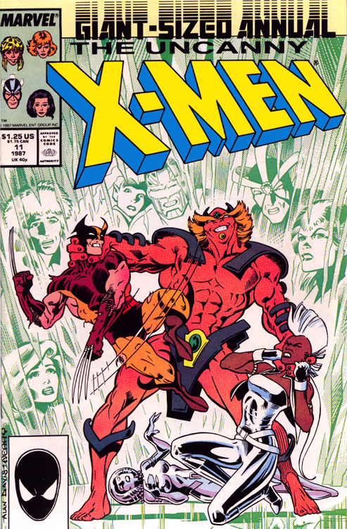 Uncanny X-Men (1963) issue _Annual_11 - Page 1