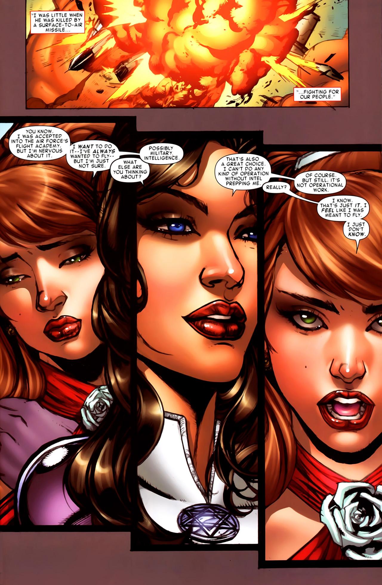 Read online Astonishing Tales (2009) comic -  Issue #6 - 25