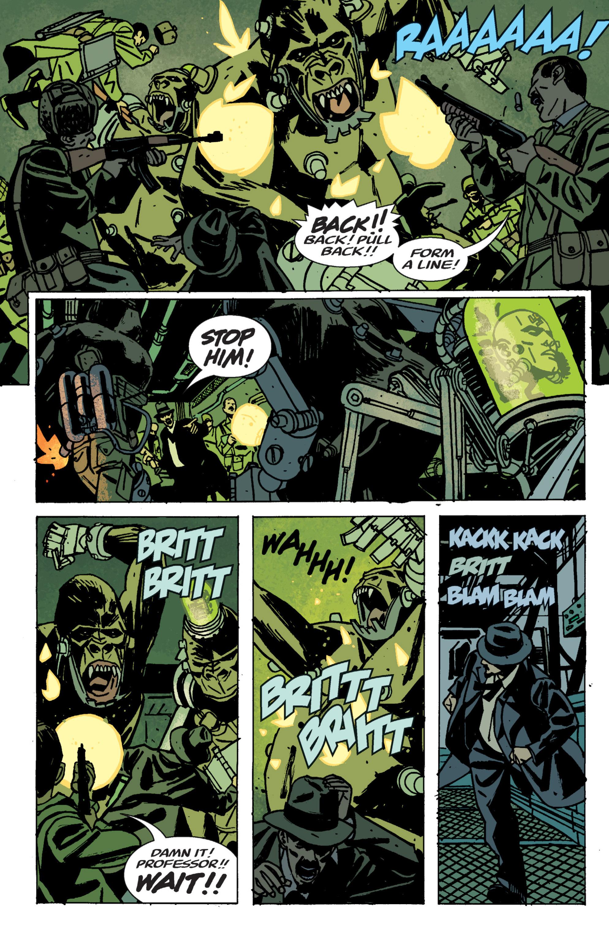 Read online B.P.R.D. (2003) comic -  Issue # TPB 9 - 112