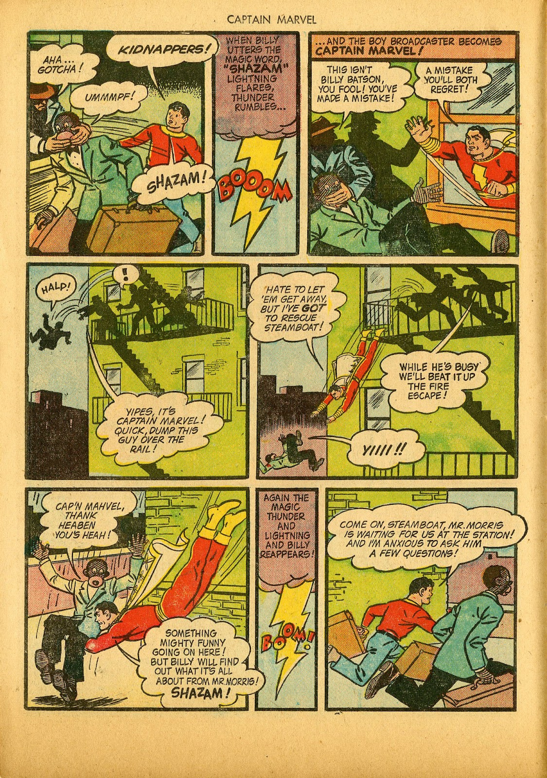 Captain Marvel Adventures issue 36 - Page 18