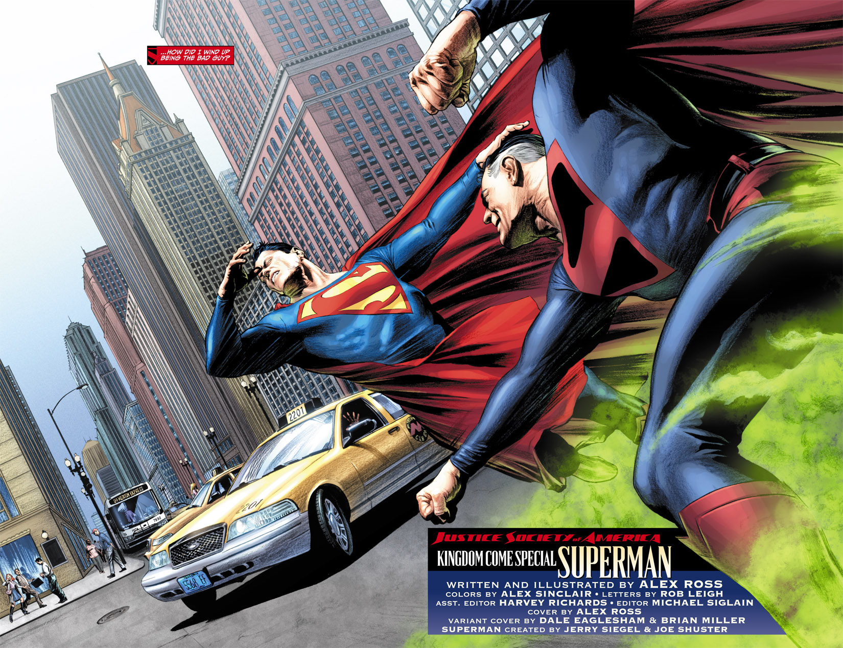 Read online JSA Kingdom Come Special: Superman comic -  Issue # Full - 4