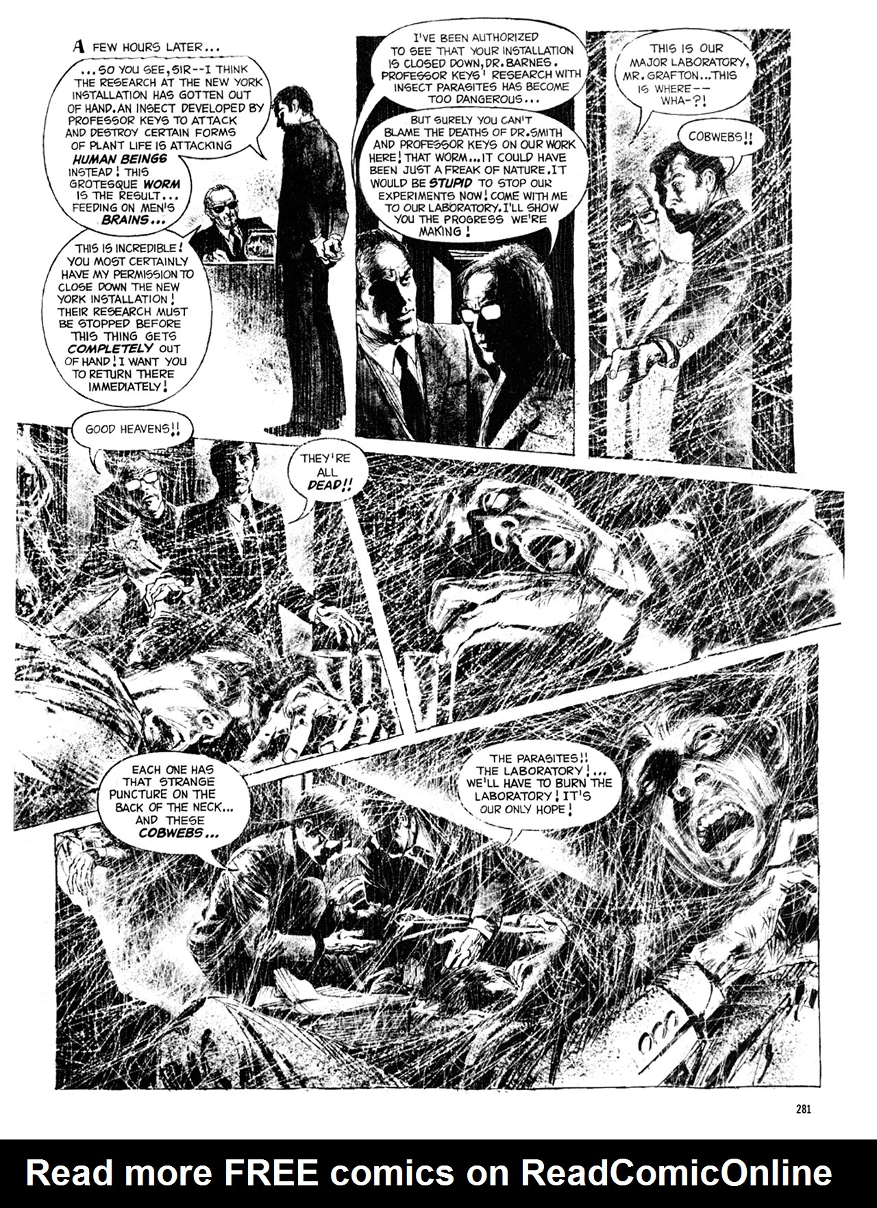 Read online Eerie Archives comic -  Issue # TPB 8 - 282