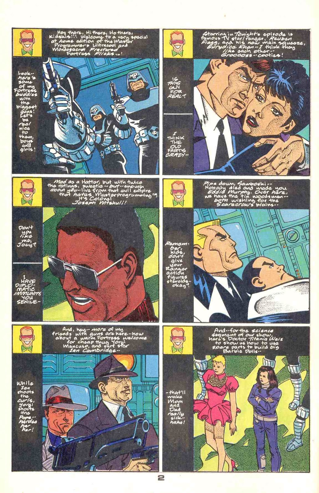 Howard Chaykin's American Flagg issue 12 - Page 4