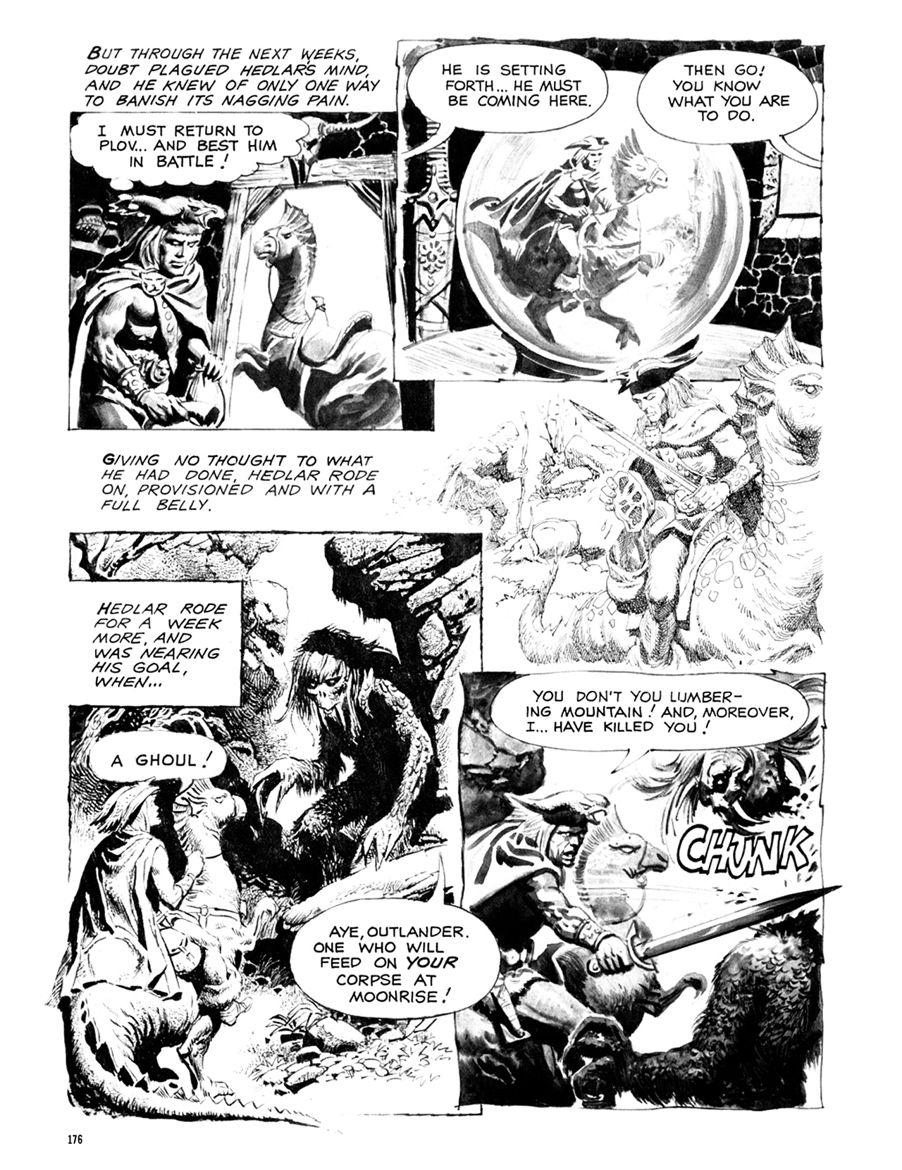 Read online Eerie Archives comic -  Issue # TPB 9 - 177