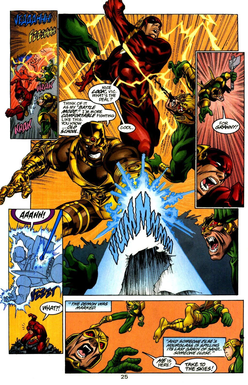 Read online The Flash: Our Worlds at War comic -  Issue # Full - 25