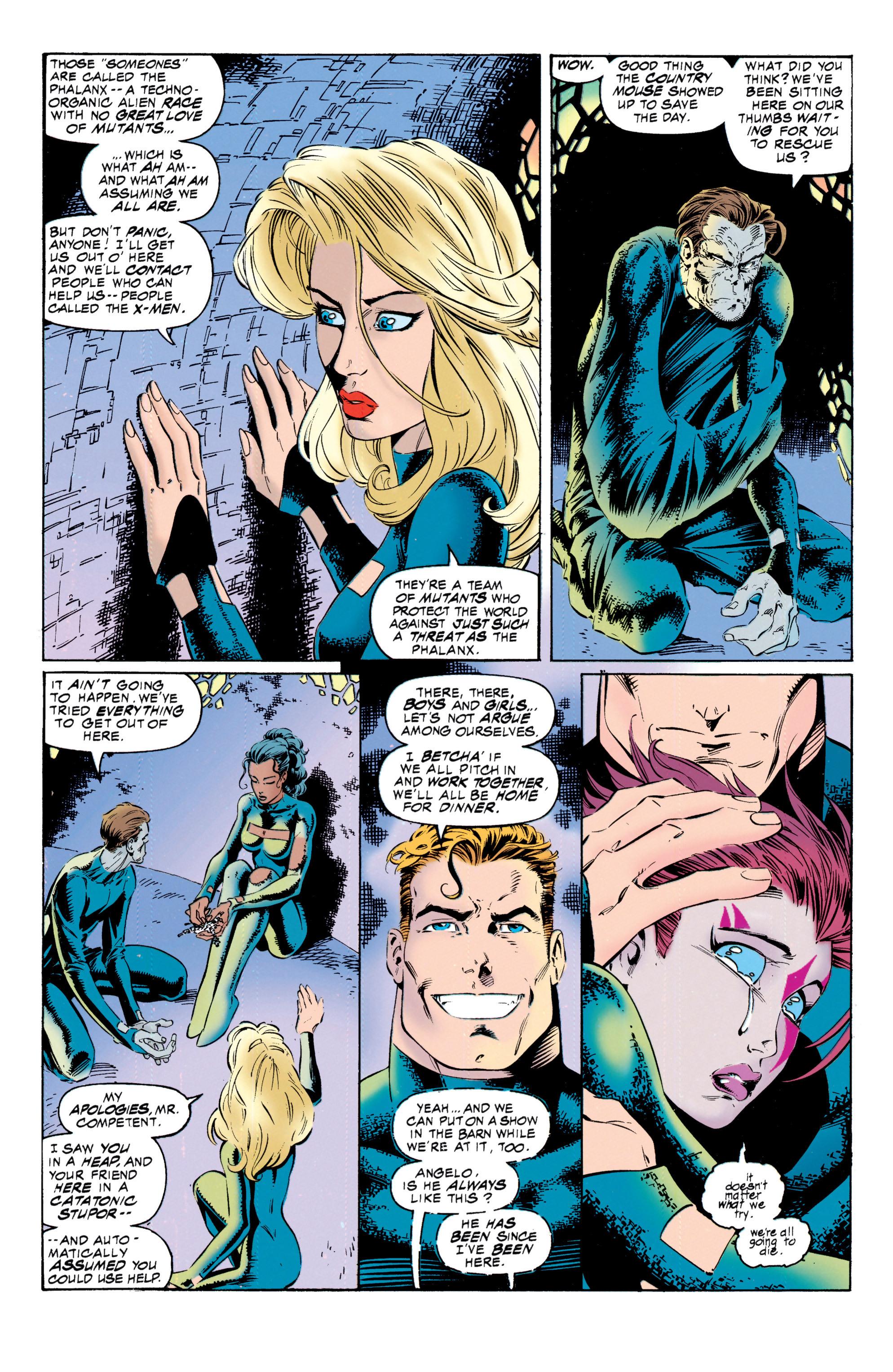 Read online Uncanny X-Men (1963) comic -  Issue #317 - 5