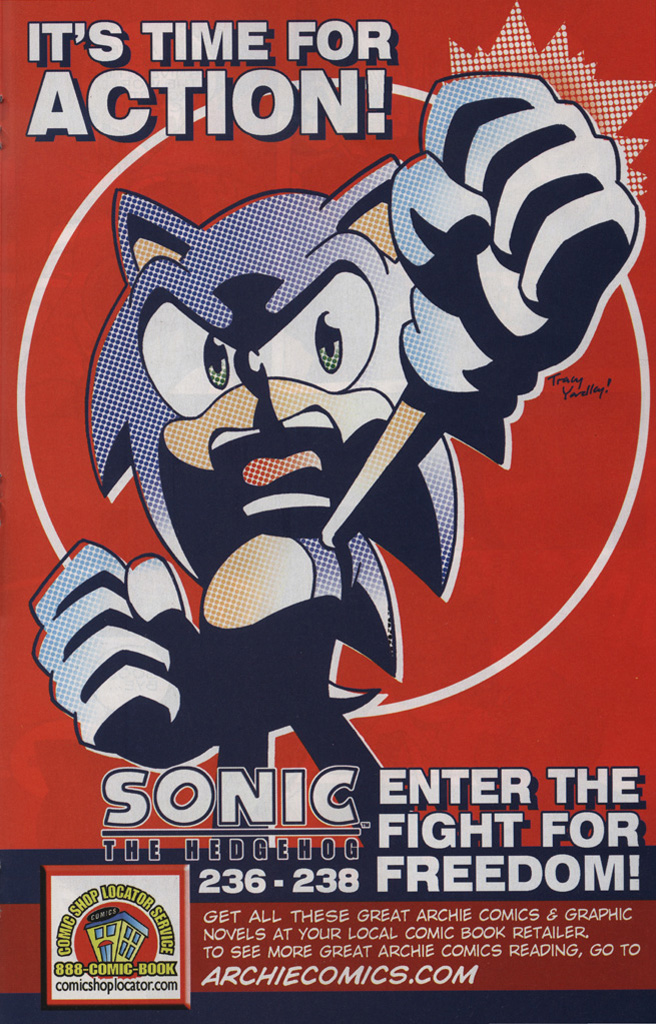 Read online Sonic the Hedgehog Free Comic Book Day Edition comic -  Issue # Special 6 - 19