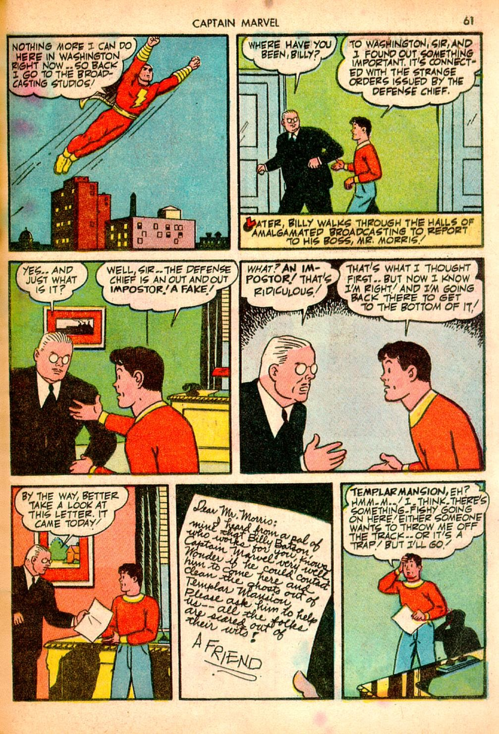 Captain Marvel Adventures issue 10 - Page 61