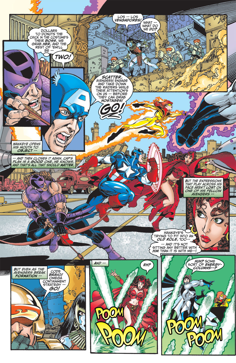 Read online Avengers (1998) comic -  Issue #8 - 11