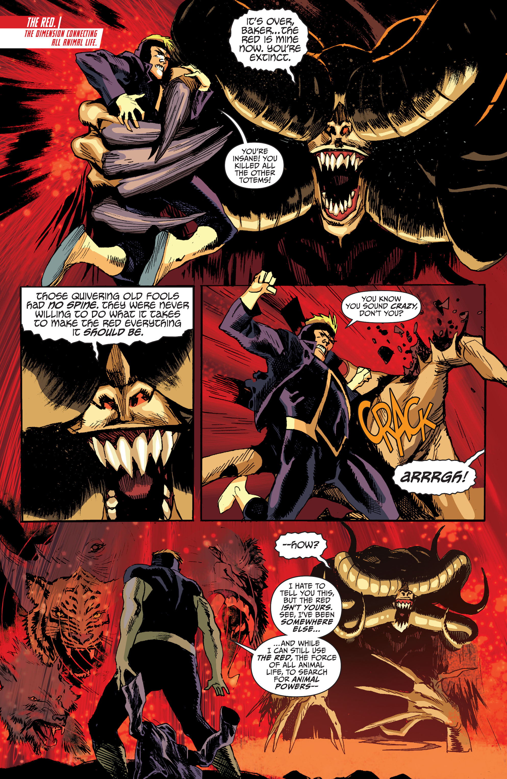 Read online Animal Man (2011) comic -  Issue #27 - 4