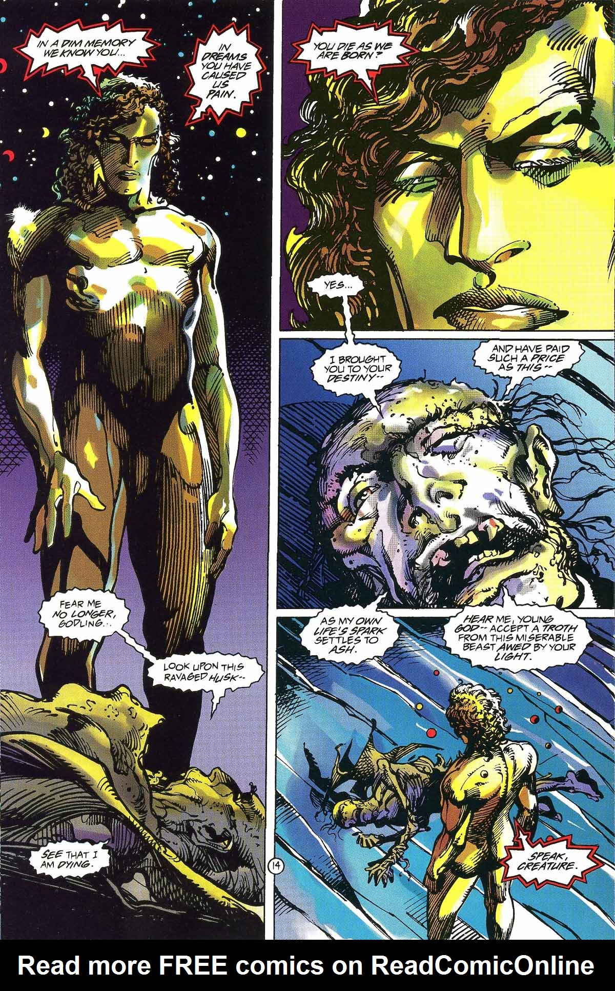 Read online Rune (1994) comic -  Issue #5 - 17