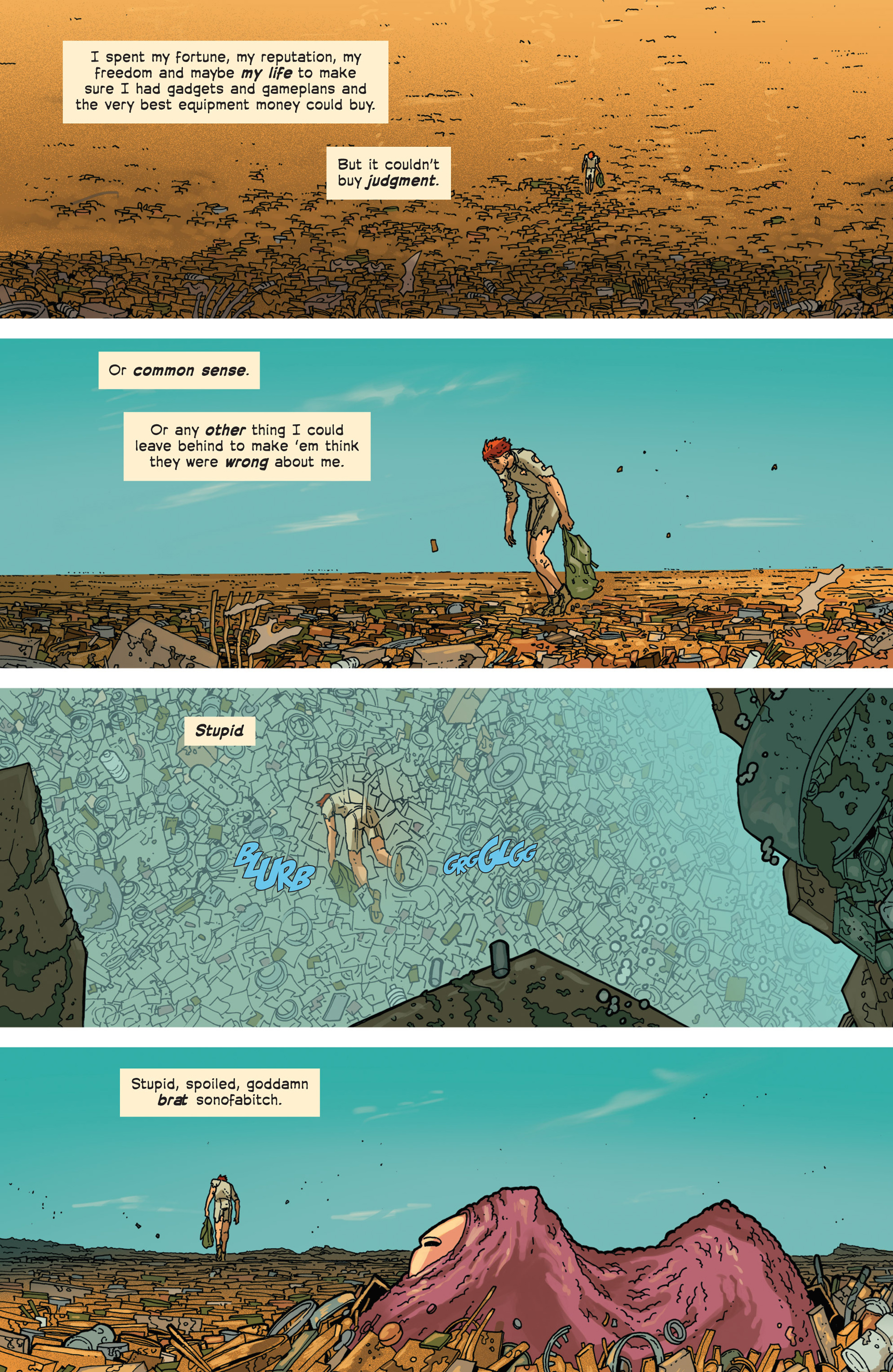 Read online Great Pacific comic -  Issue #3 - 11