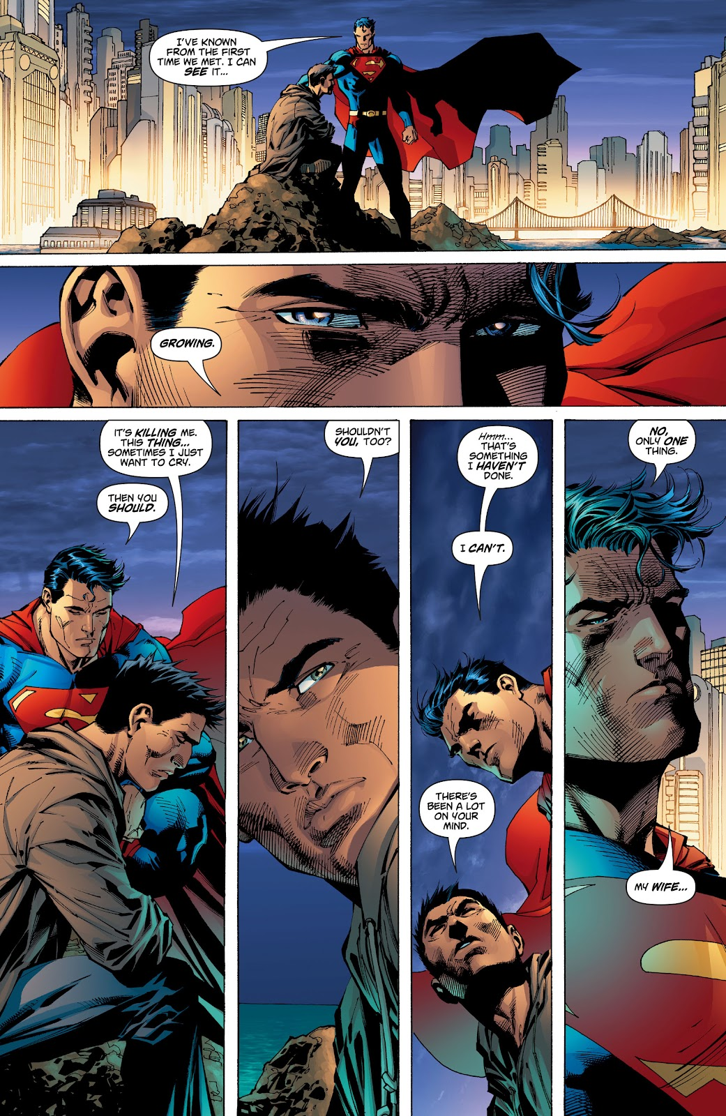 Read online Superman: For Tomorrow comic -  Issue # TPB (Part 2) - 35