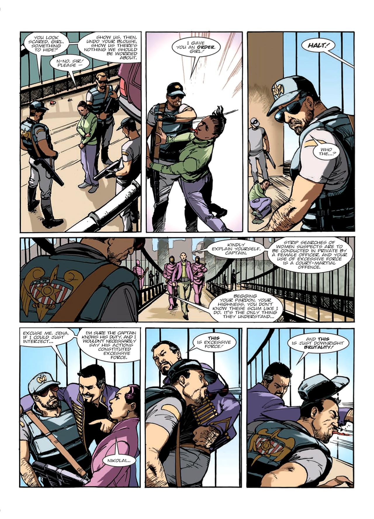 Read online Nikolai Dante comic -  Issue # TPB 9 - 16