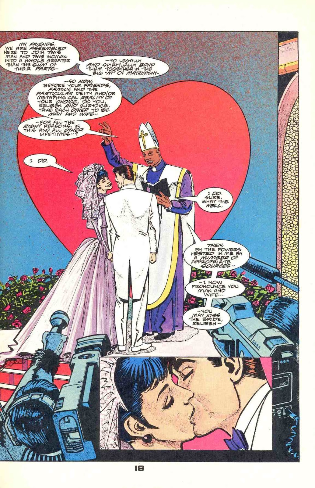 Howard Chaykin's American Flagg issue 12 - Page 25