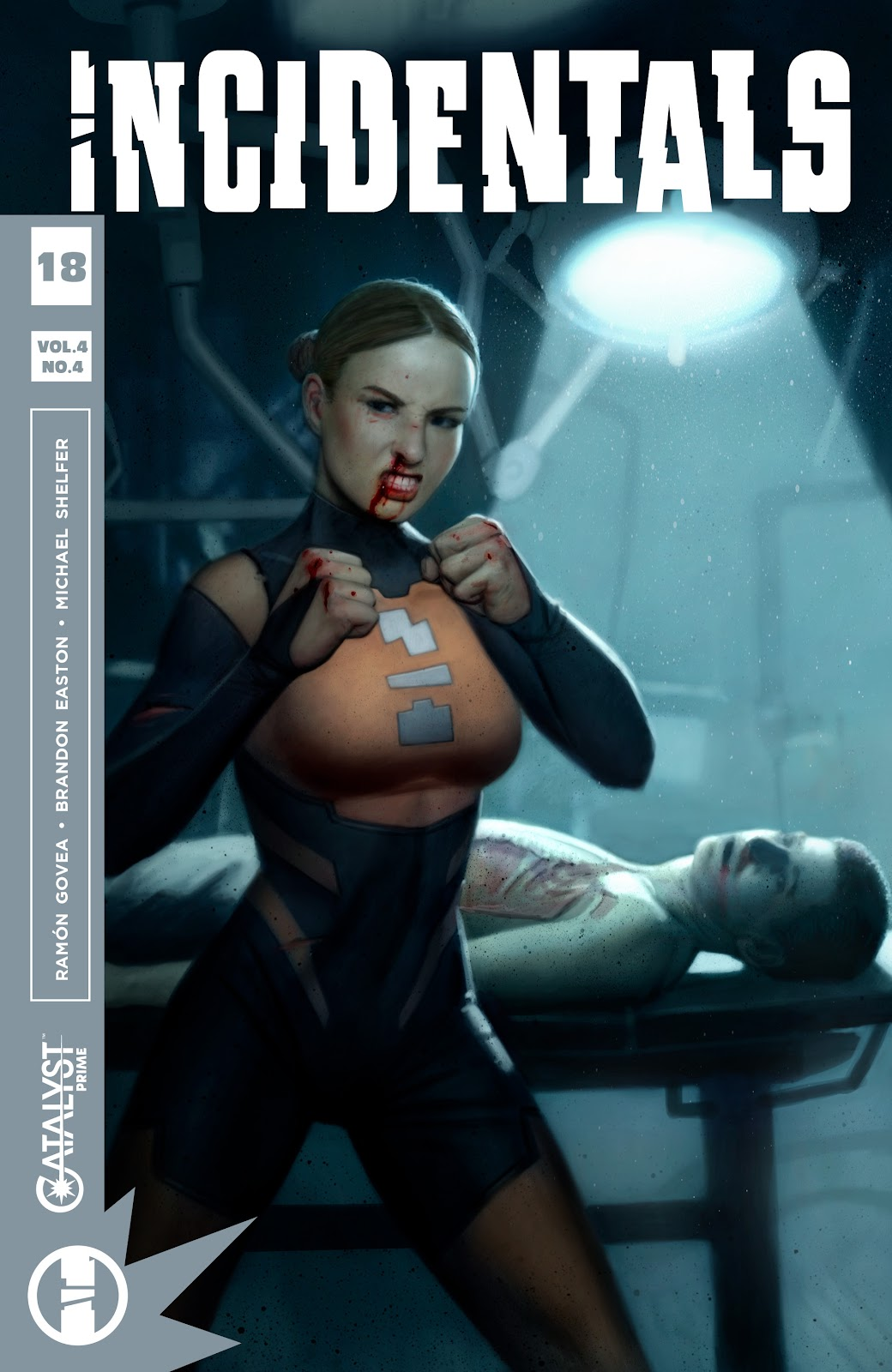 Read online Incidentals comic -  Issue #18 - 1