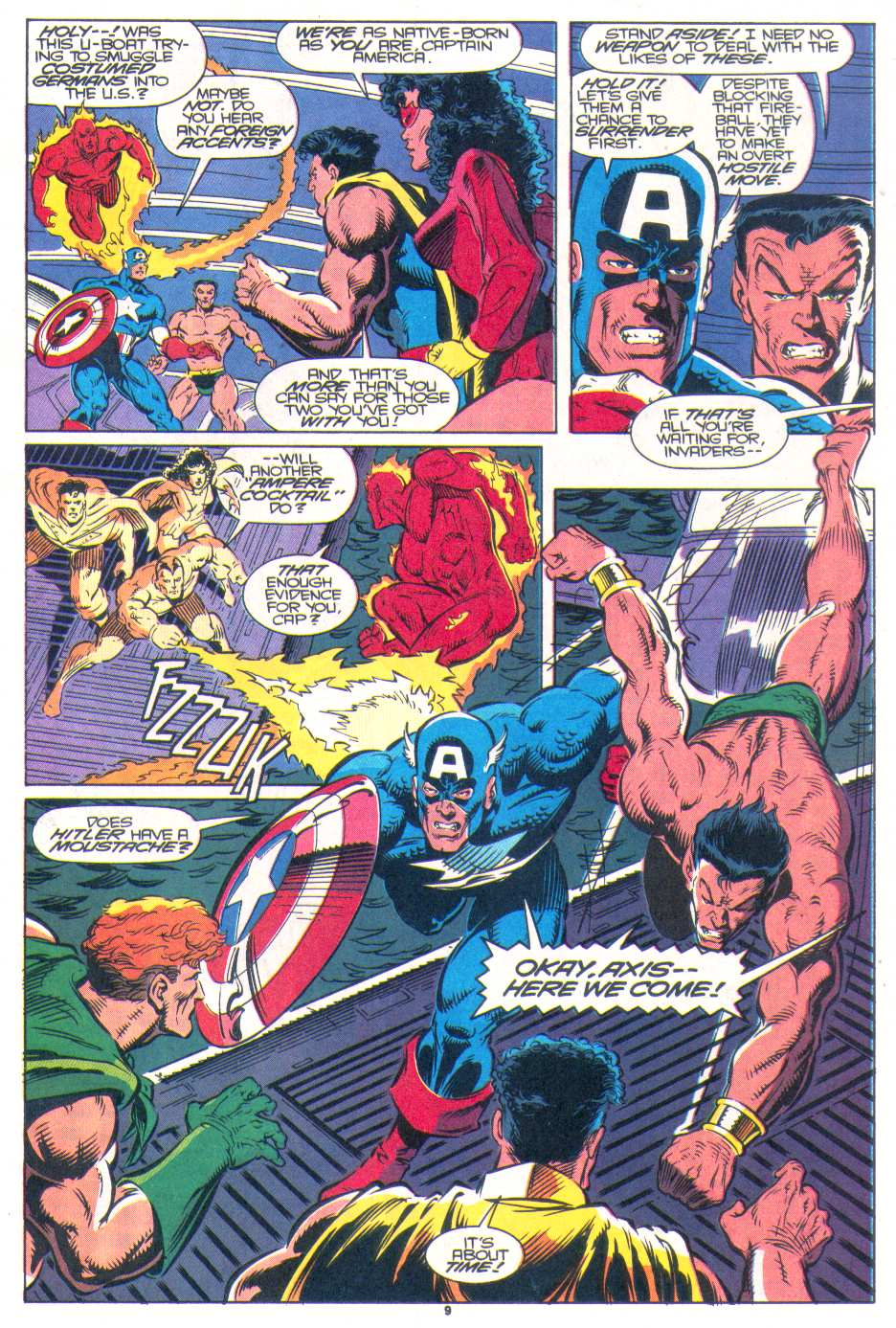 Read online The Invaders (1993) comic -  Issue #1 - 9