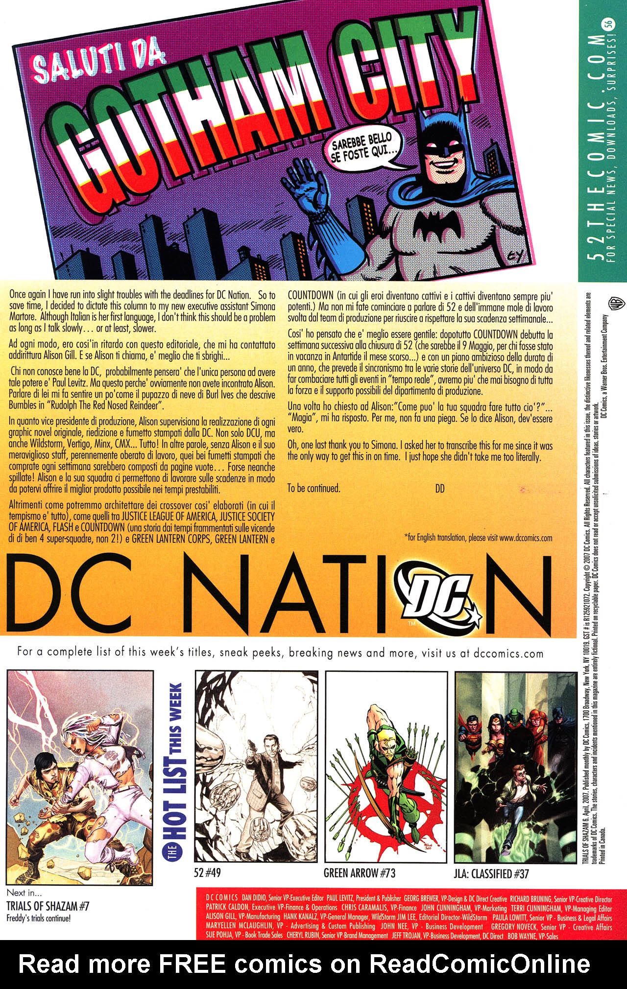 Read online Trials of Shazam comic -  Issue #6 - 23