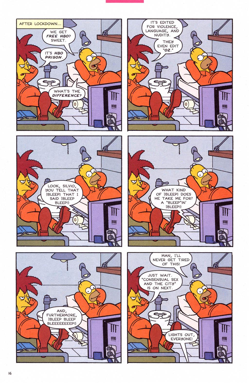 Read online Simpsons Comics comic -  Issue #108 - 17