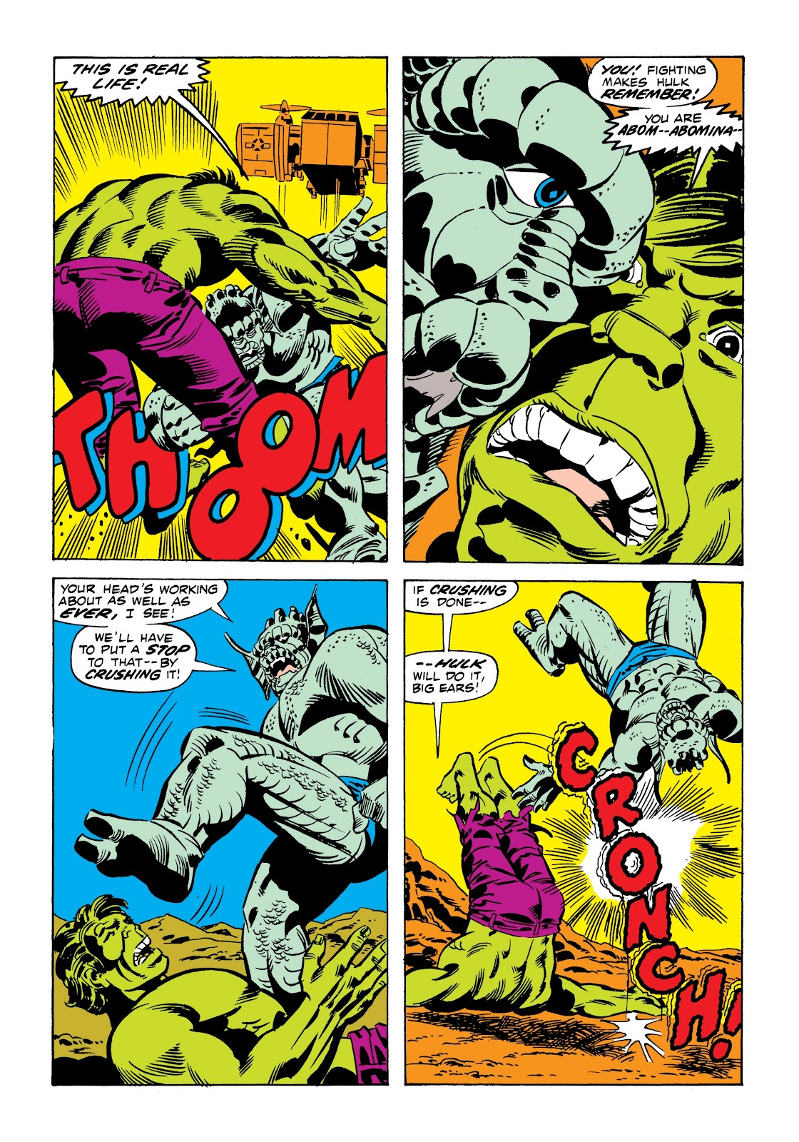 Read online Marvel Masterworks: The Incredible Hulk comic -  Issue # TPB 9 (Part 1) - 67