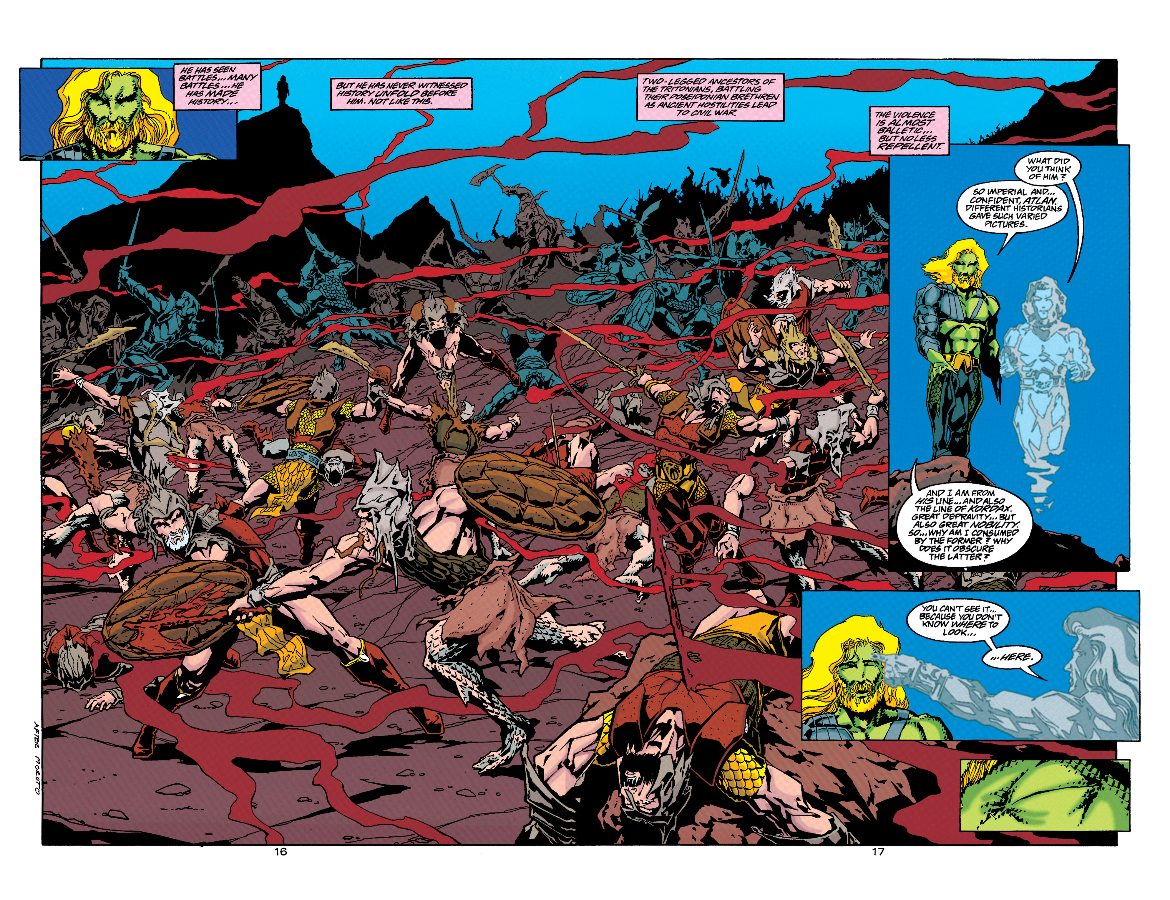 Read online Aquaman (1994) comic -  Issue #33 - 15