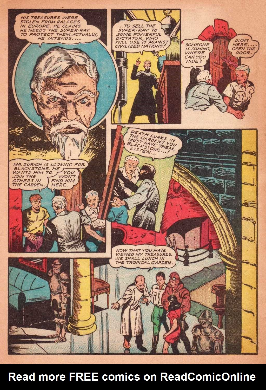Read online Super-Magician Comics comic -  Issue #2 - 21