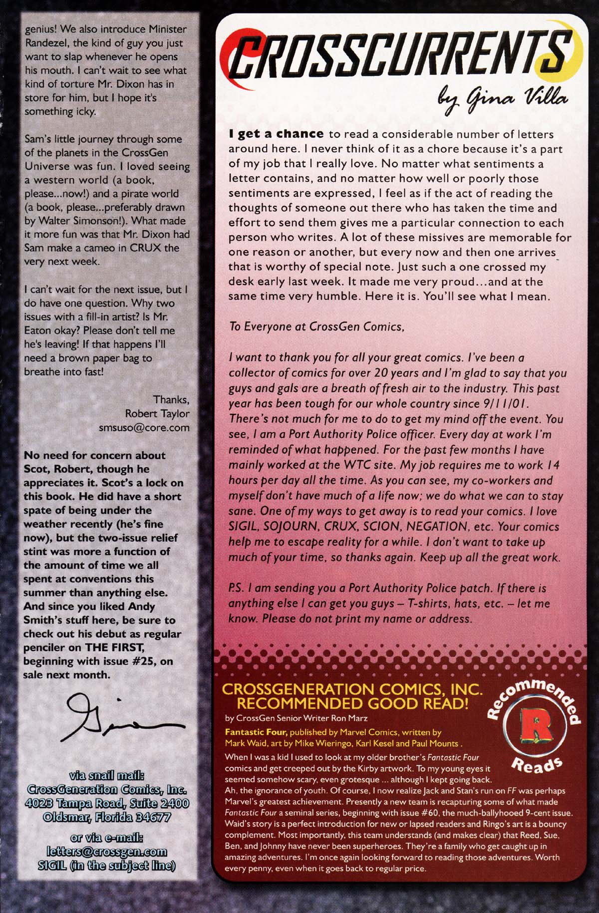 Read online Sigil (2000) comic -  Issue #29 - 21
