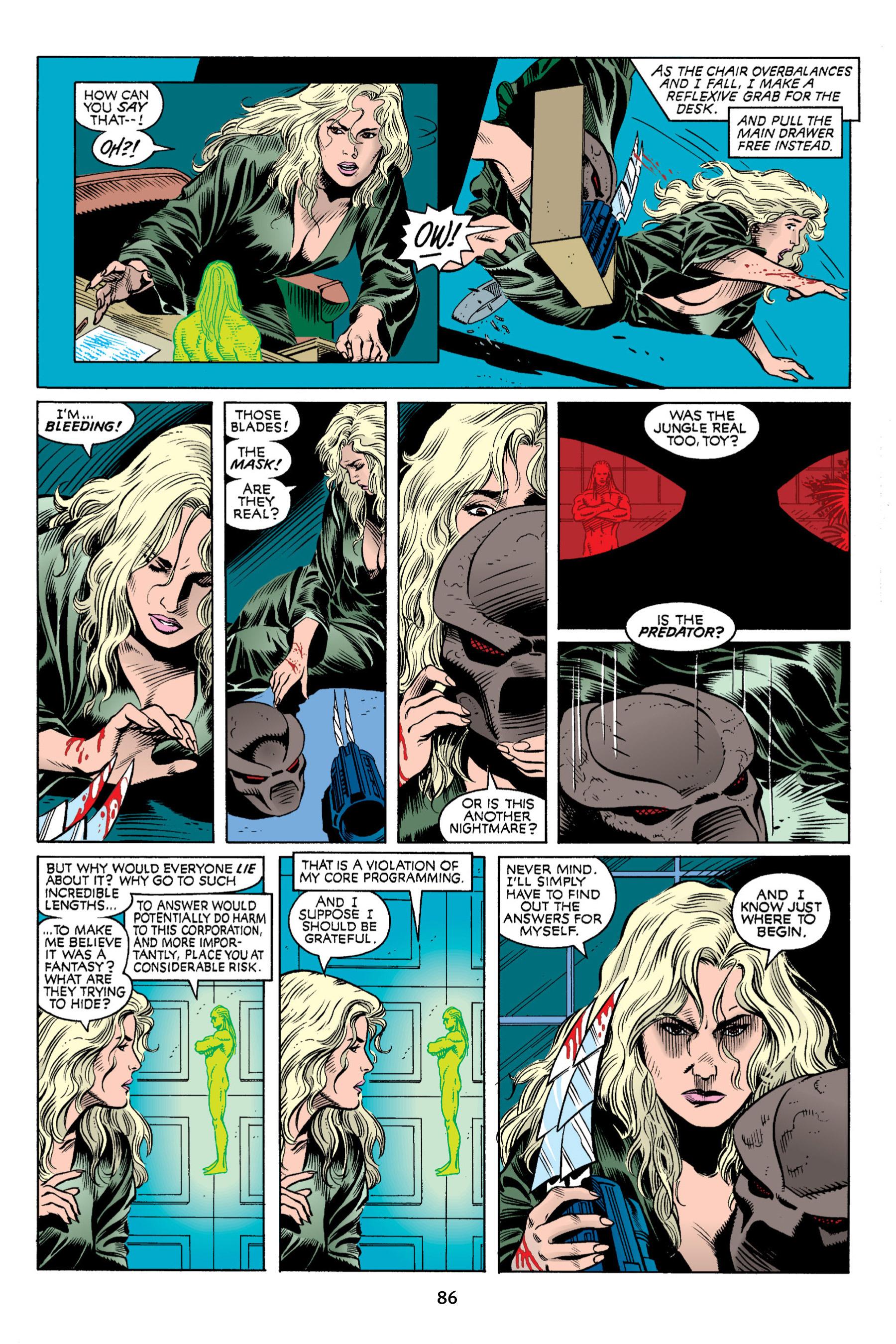 Read online Aliens vs. Predator Omnibus comic -  Issue # _TPB 2 Part 1 - 85