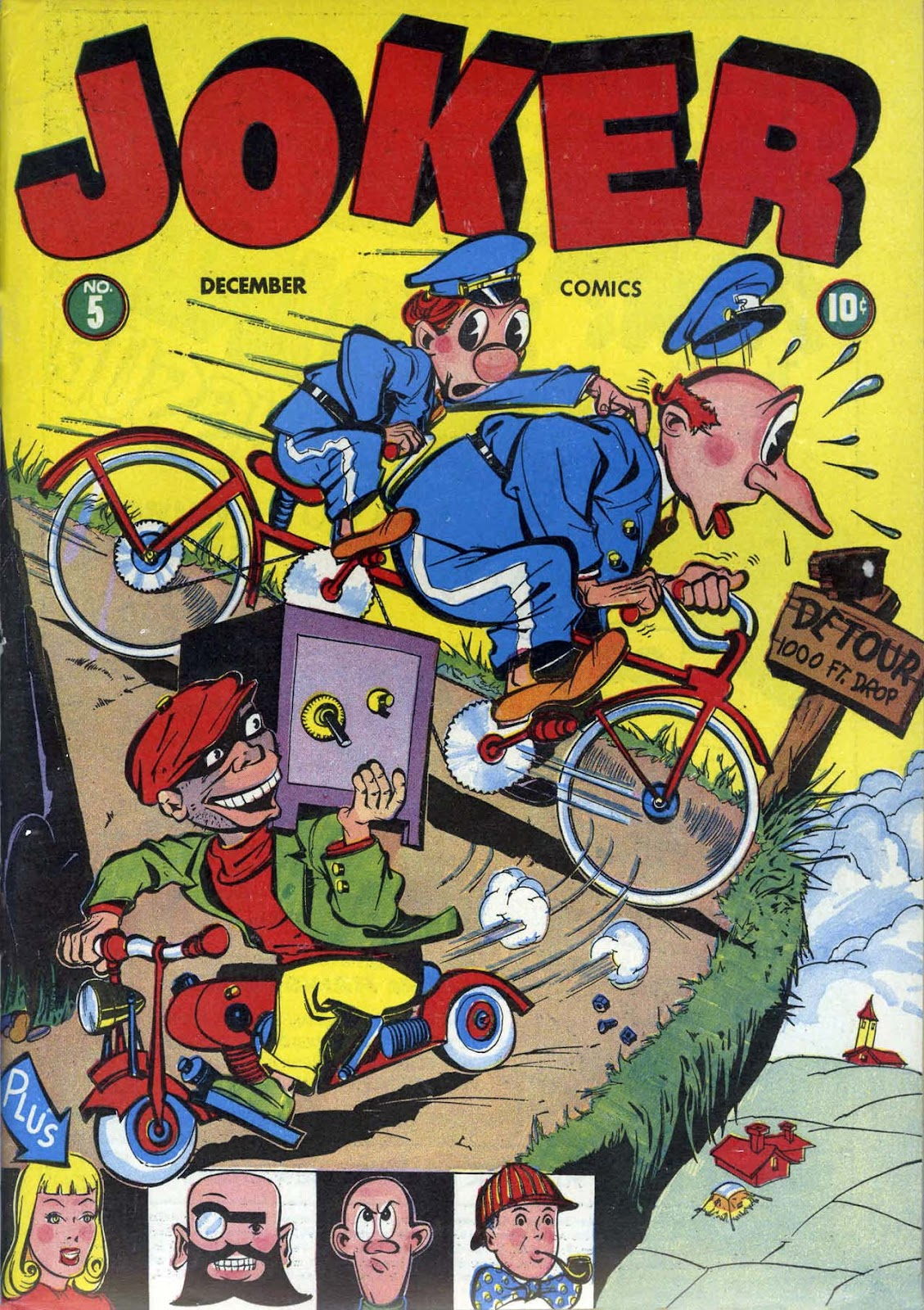 Read online Joker Comics comic -  Issue #5 - 1