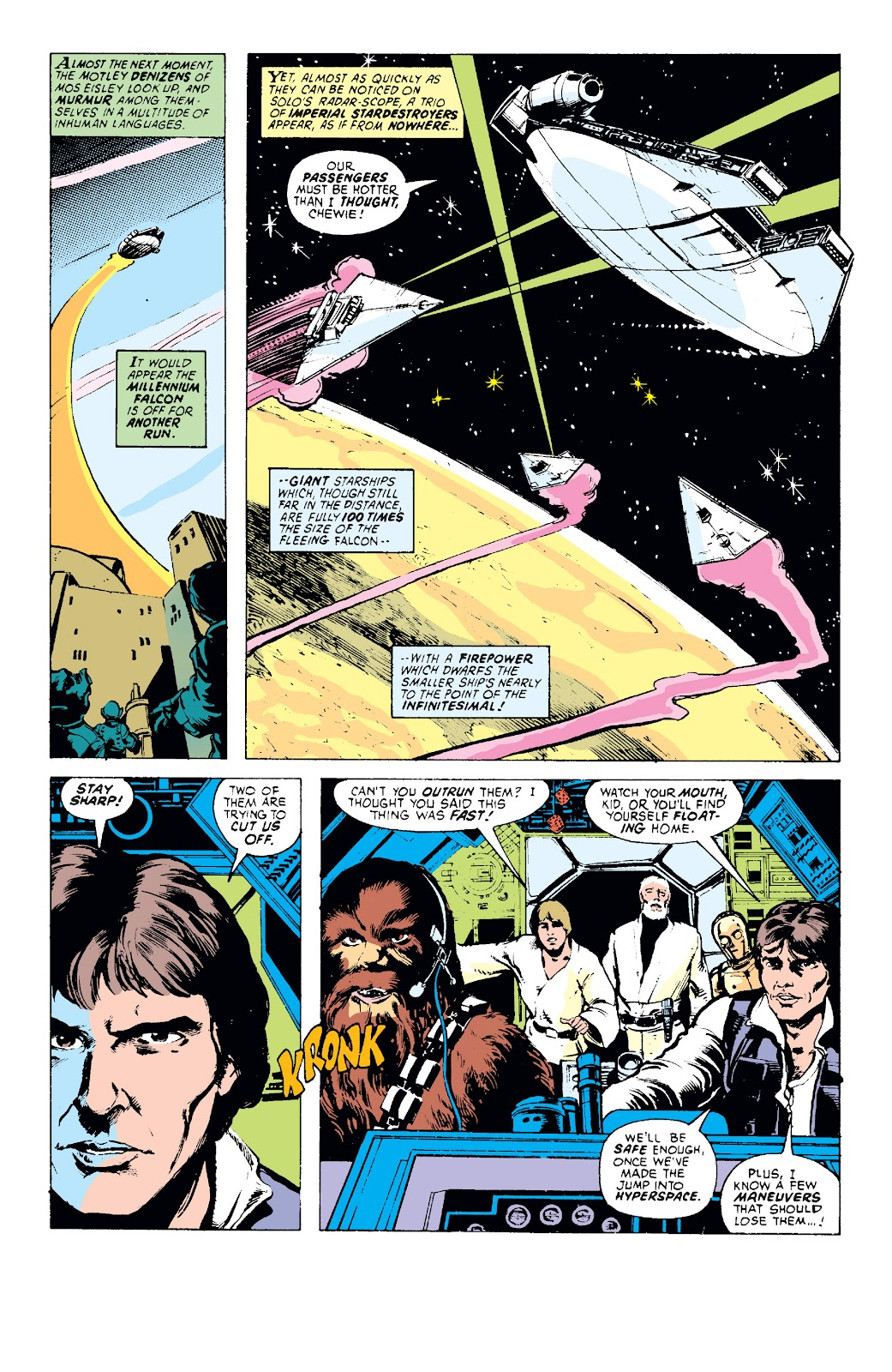 Read online Star Wars Legends: The Original Marvel Years - Epic Collection comic -  Issue # TPB 1 (Part 1) - 40