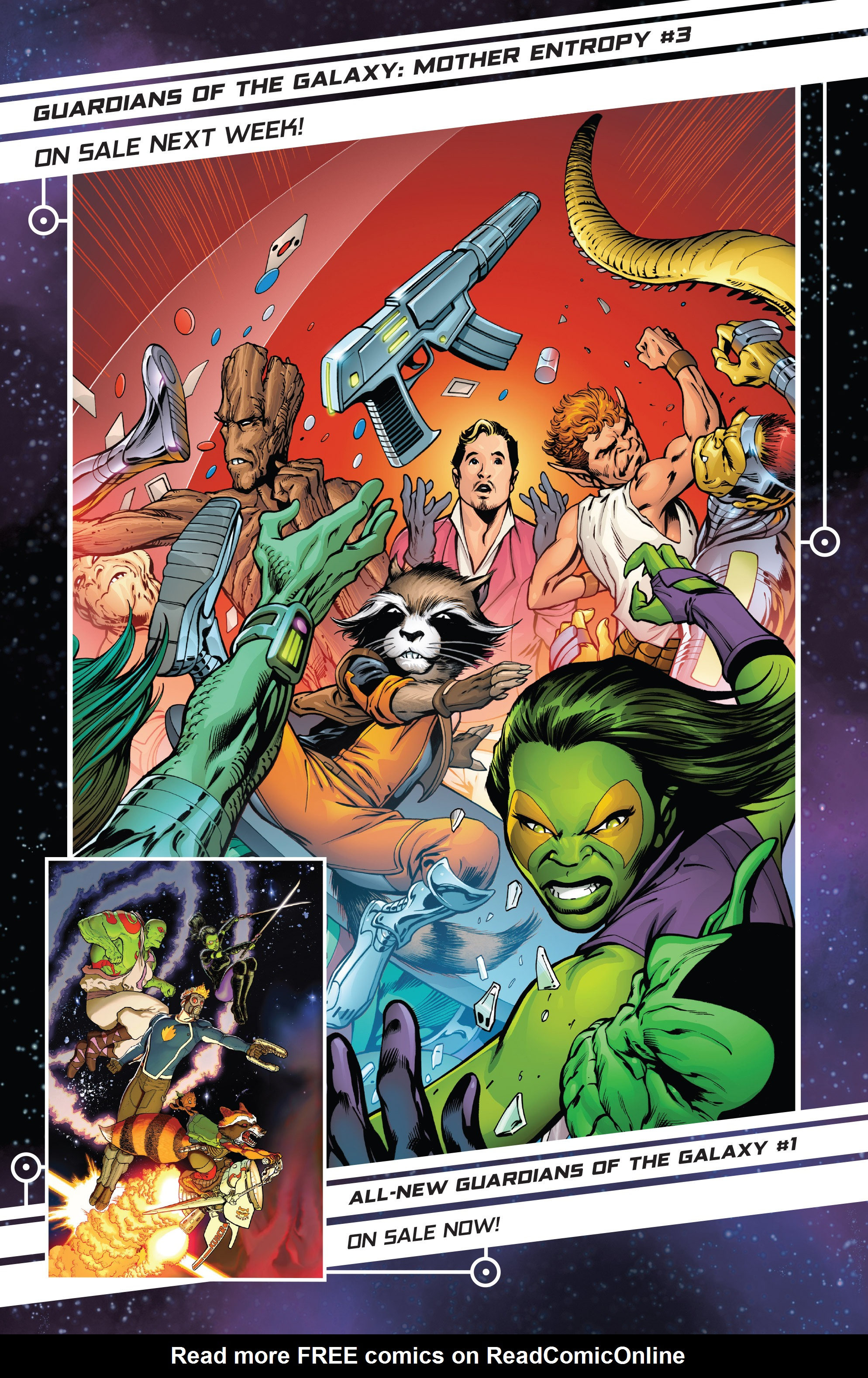 Read online Guardians of the Galaxy: Mother Entropy comic -  Issue #2 - 22