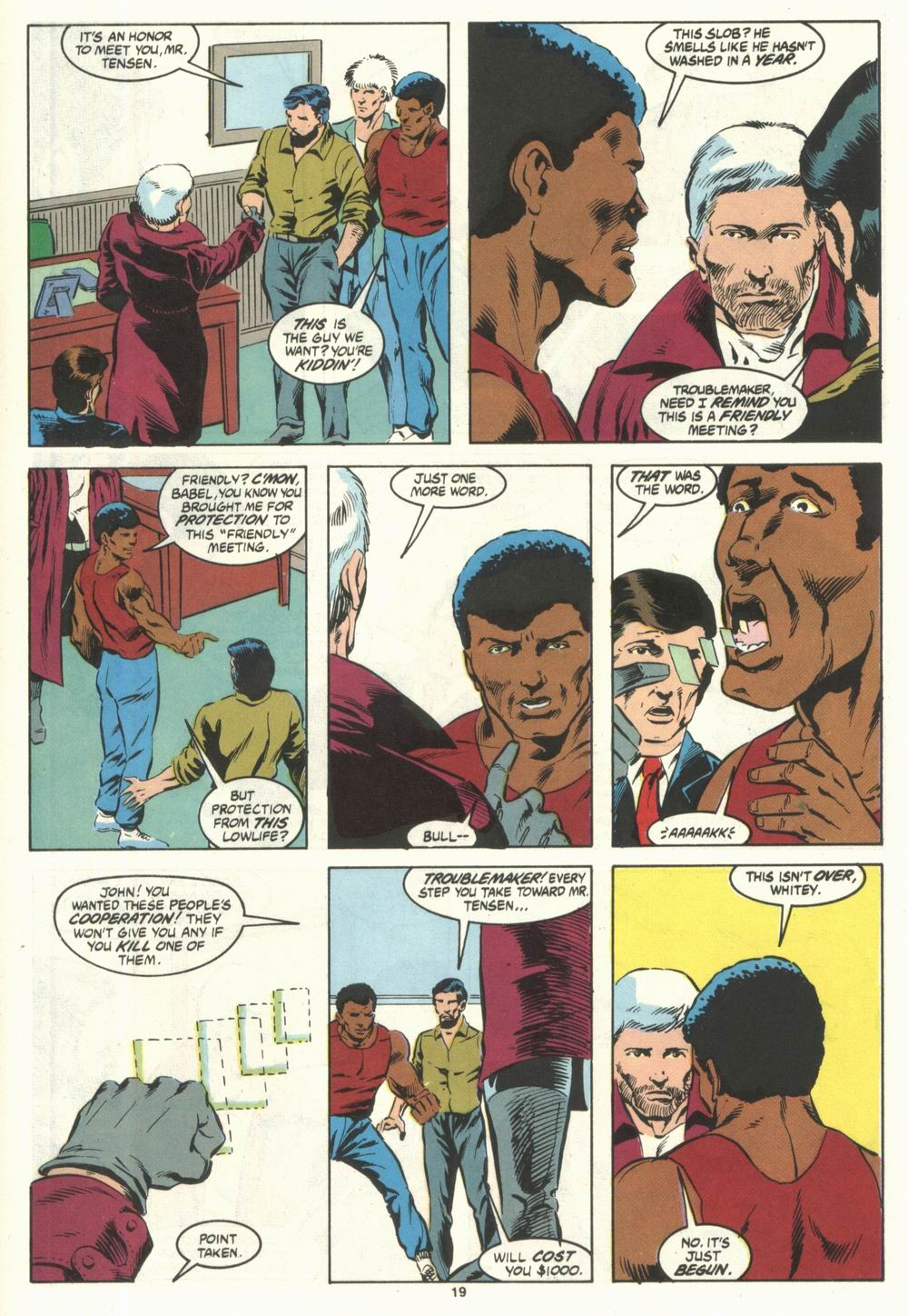 Read online Justice (1986) comic -  Issue #28 - 21