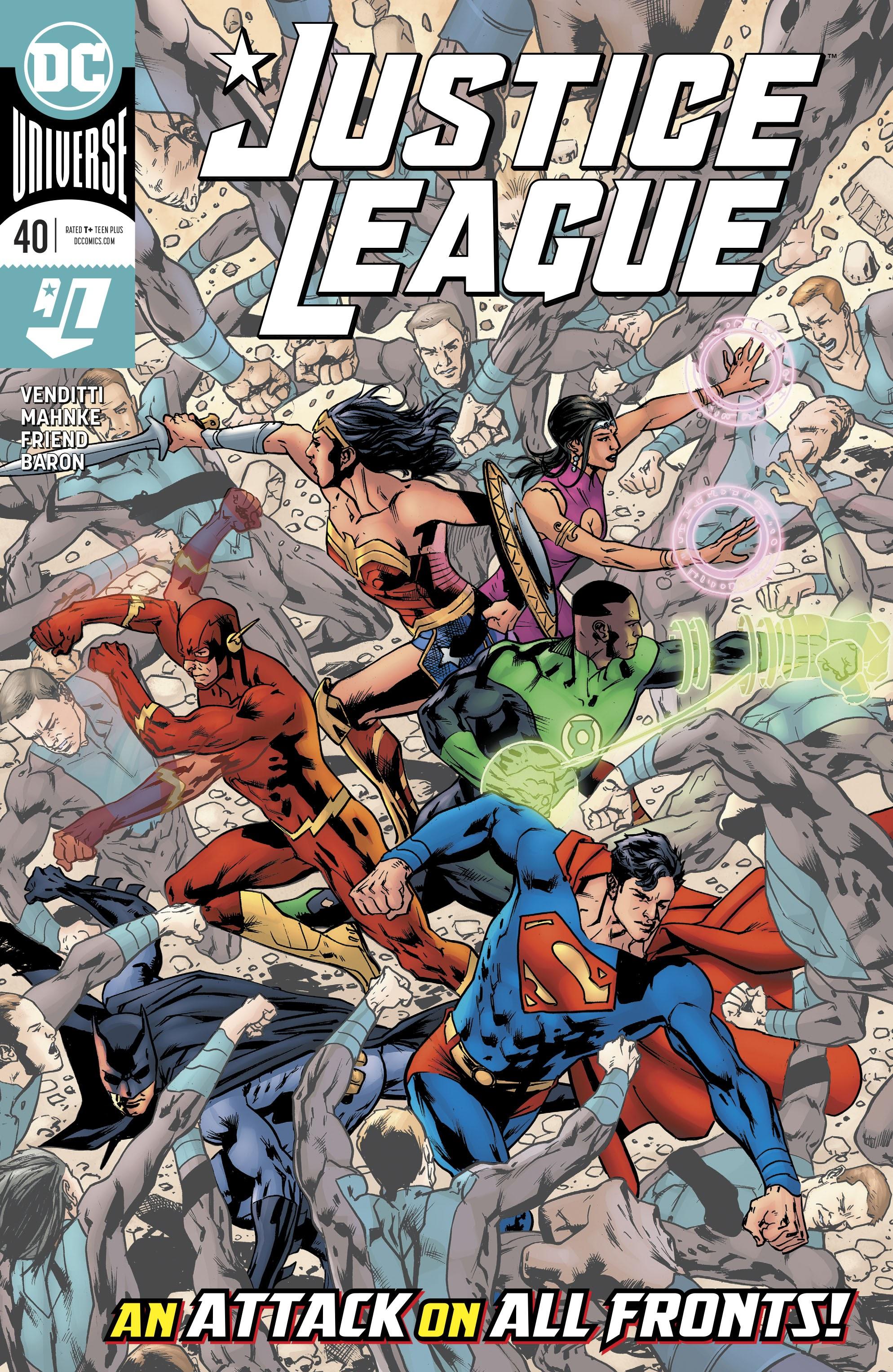 Justice League (2018) 40 Page 1