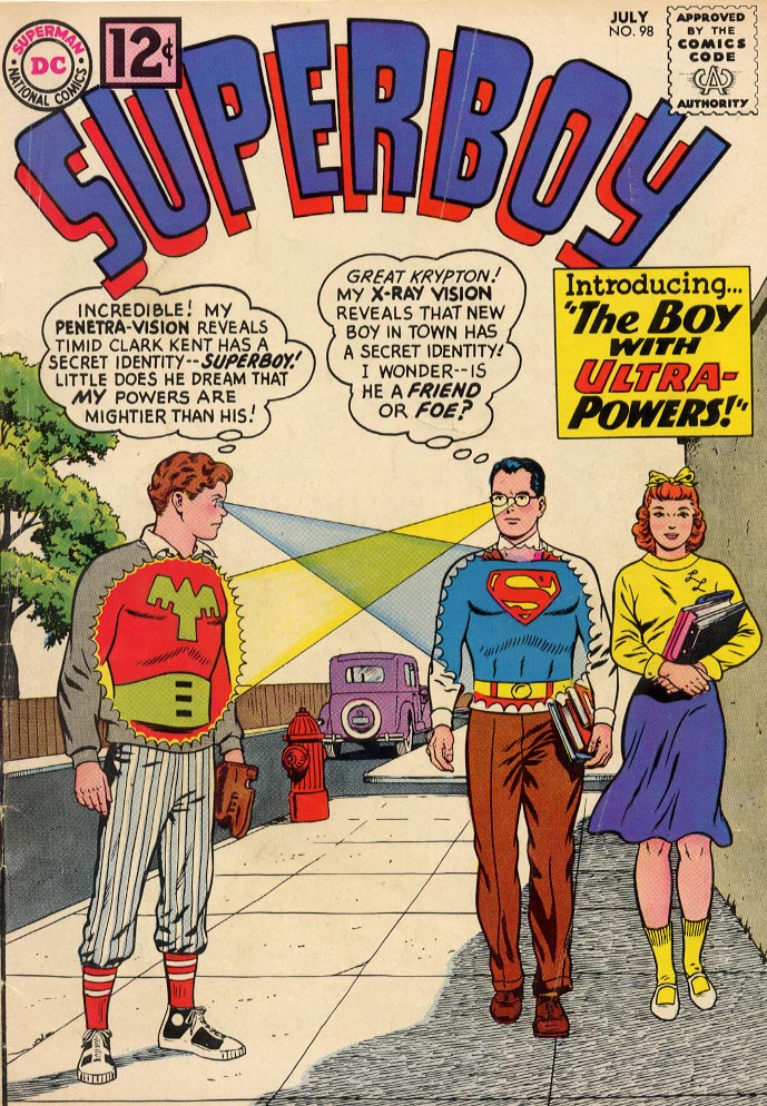 Superboy (1949) issue 98 - Page 1