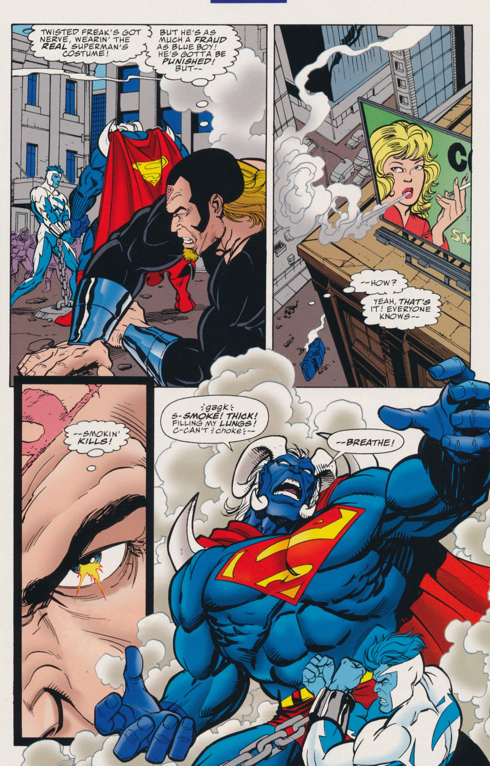 Read online Action Comics (1938) comic -  Issue #735 - 17