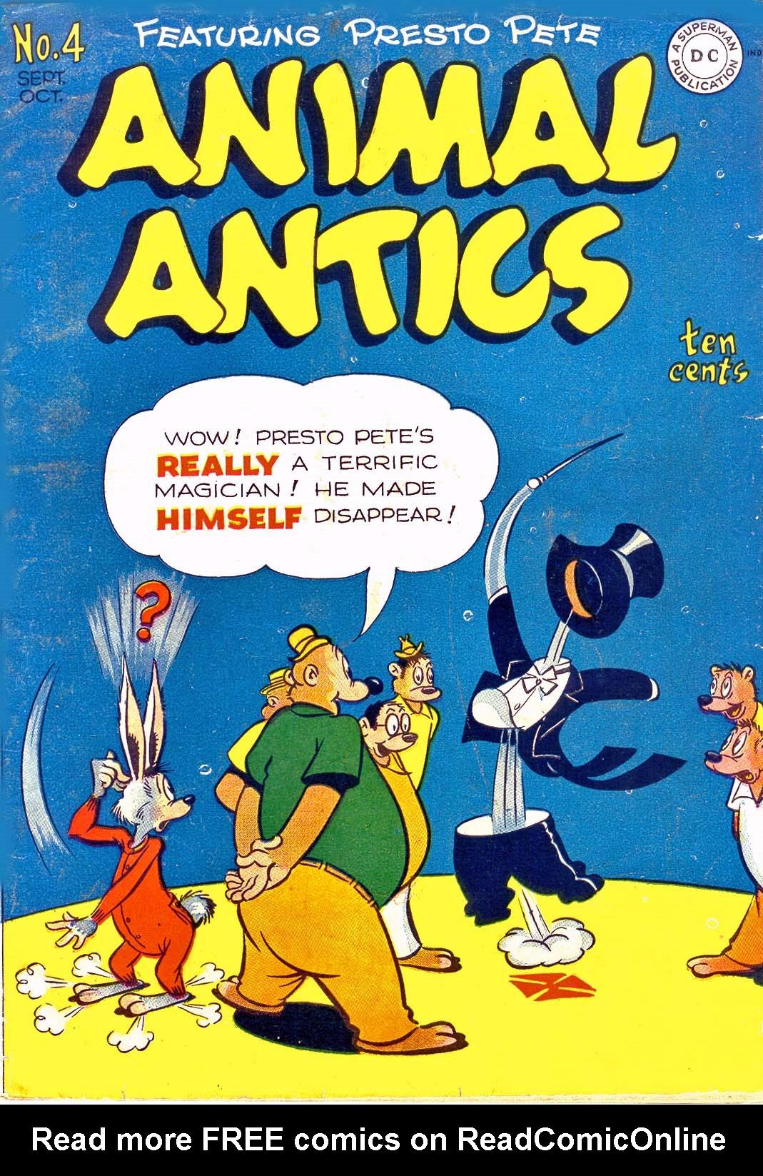 Read online Animal Antics comic -  Issue #4 - 1