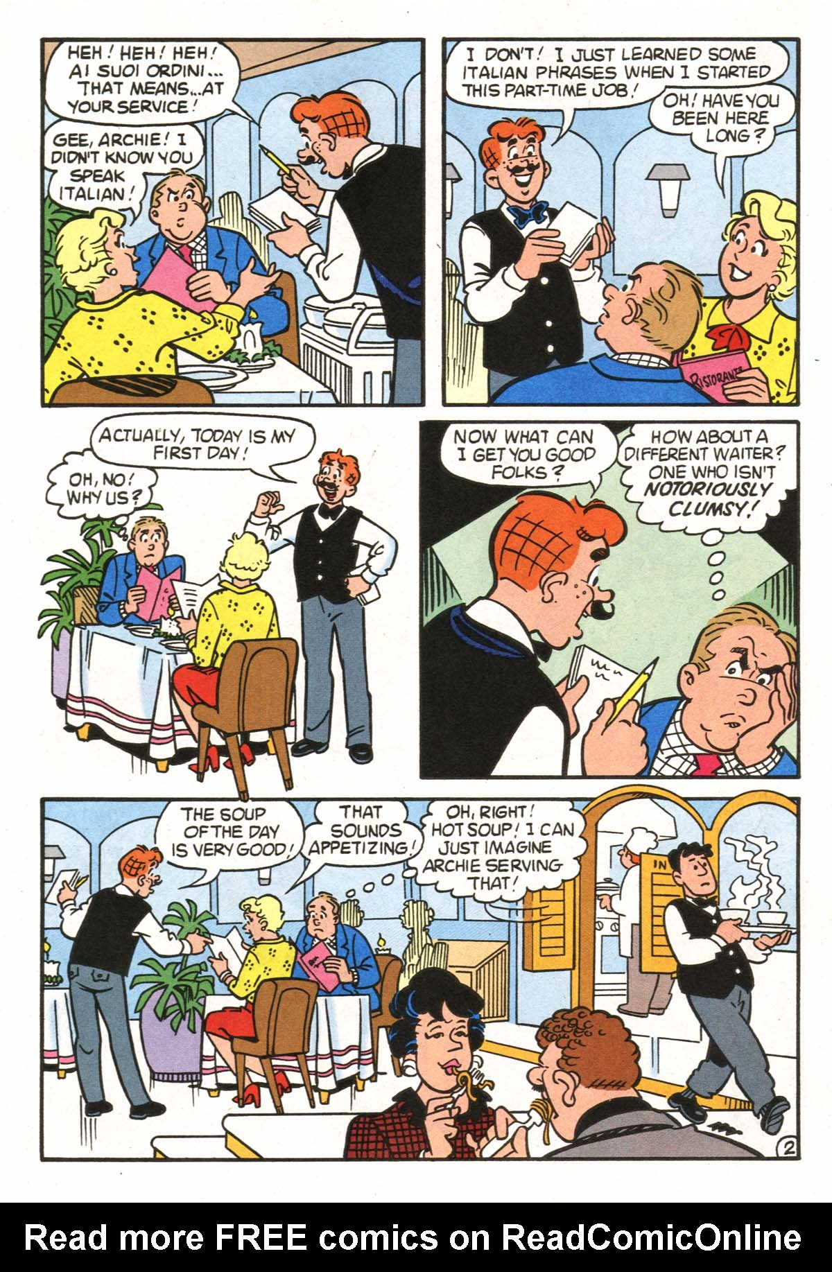 Read online Archie (1960) comic -  Issue #522 - 9