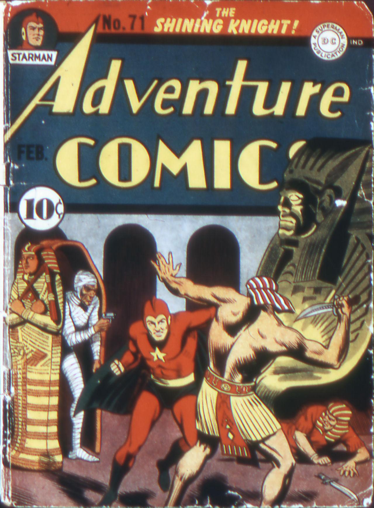 Read online Adventure Comics (1938) comic -  Issue #71 - 1