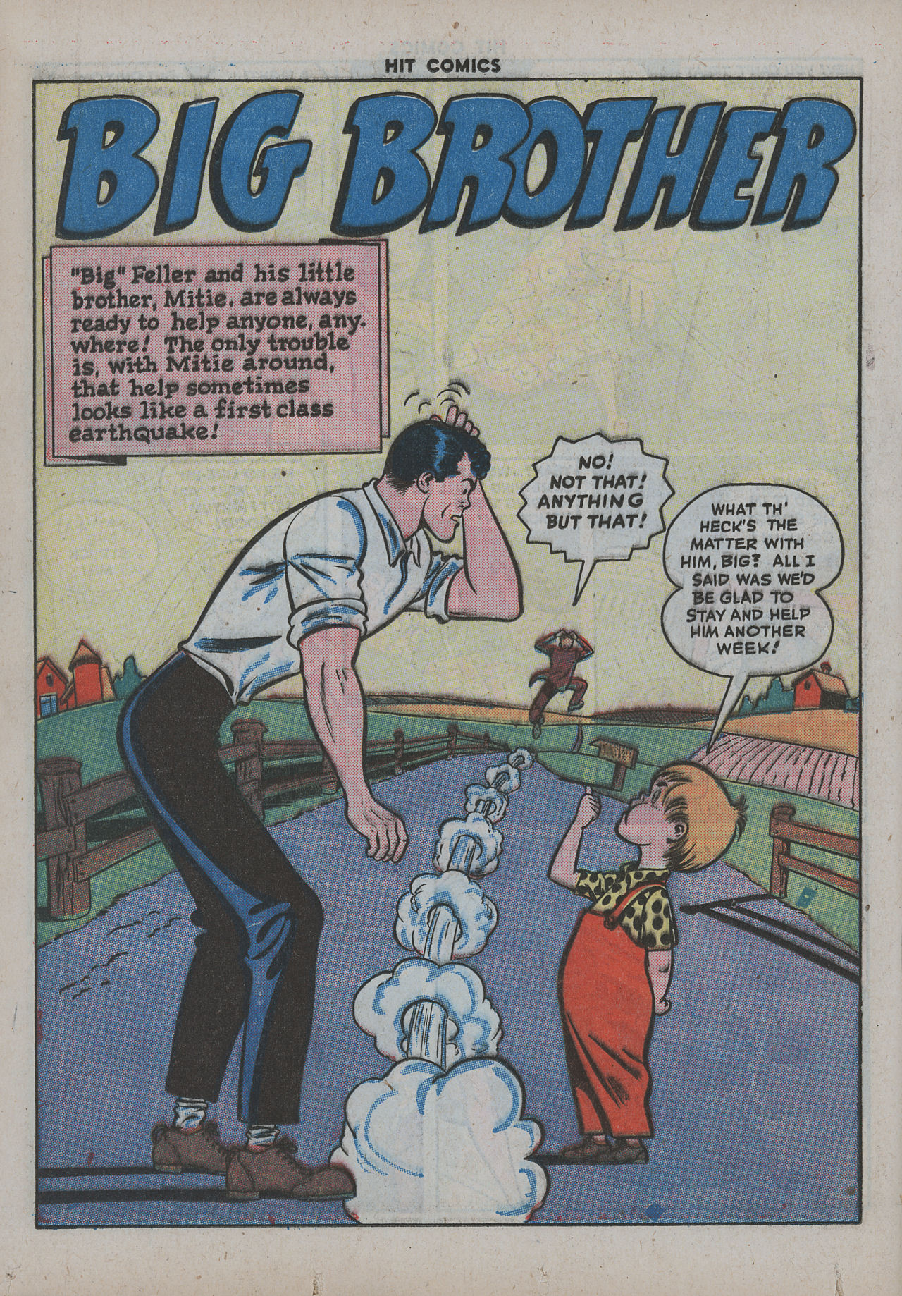 Read online Hit Comics comic -  Issue #38 - 33