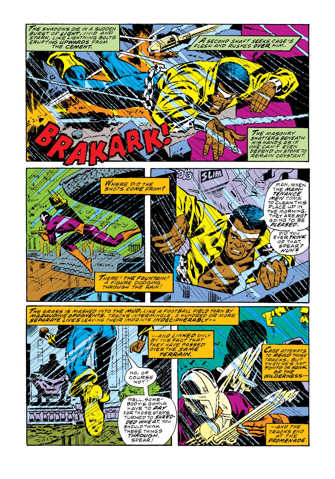 Read online Marvel Masterworks: Luke Cage, Power Man comic -  Issue # TPB 3 (Part 1) - 35