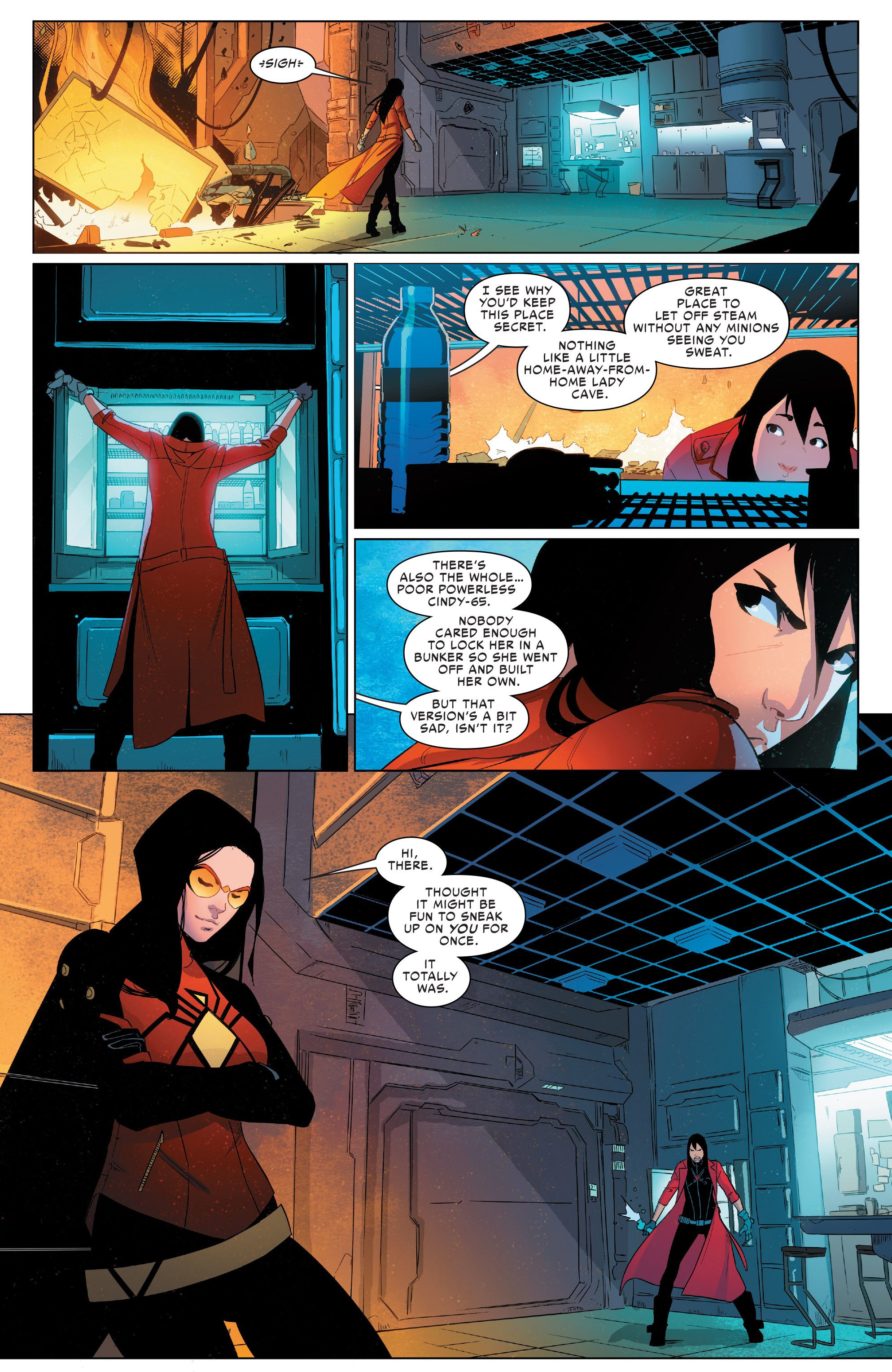 Read online Spider-Women Omega comic -  Issue # Full - 10