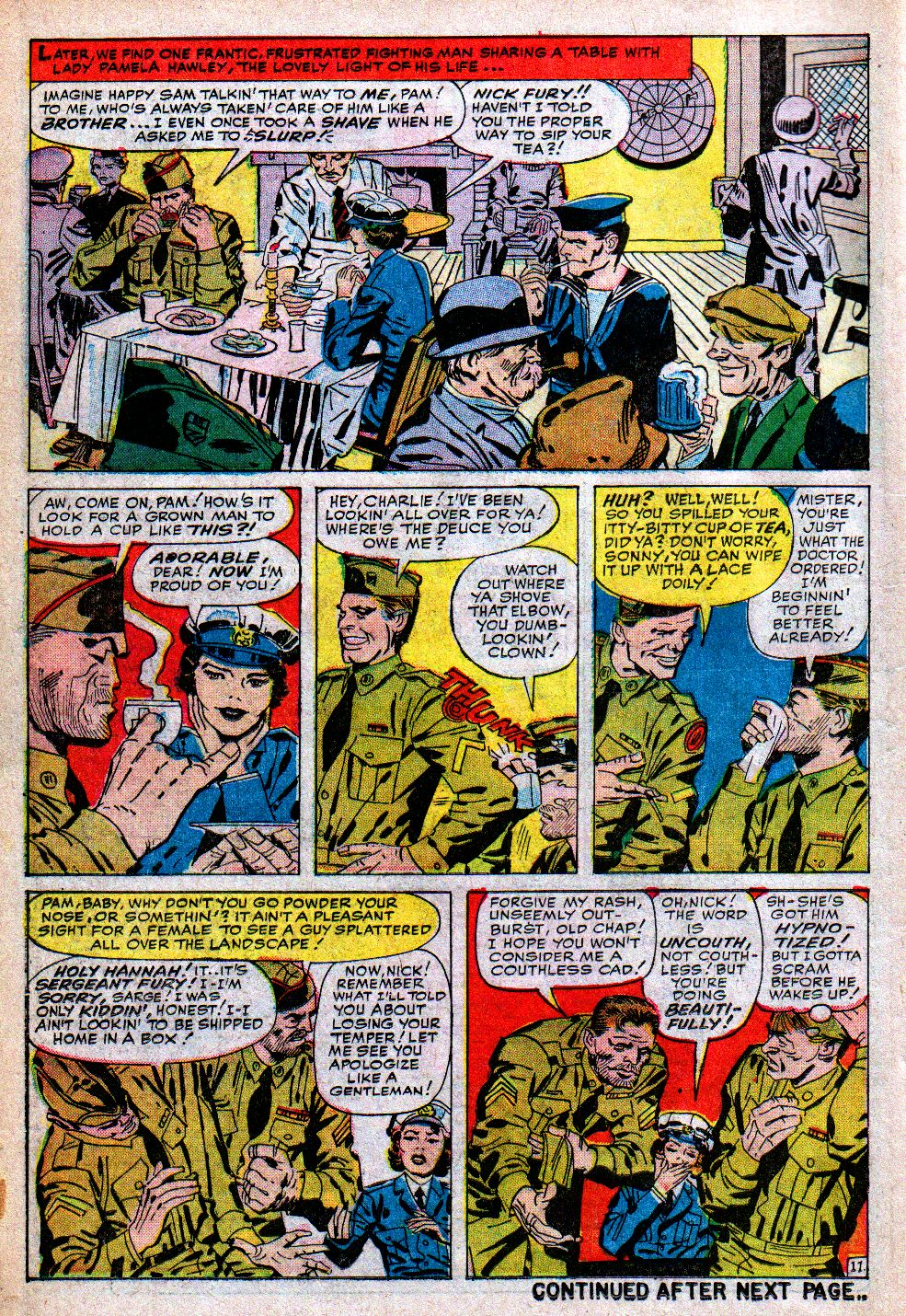 Read online Sgt. Fury comic -  Issue #5 - 14