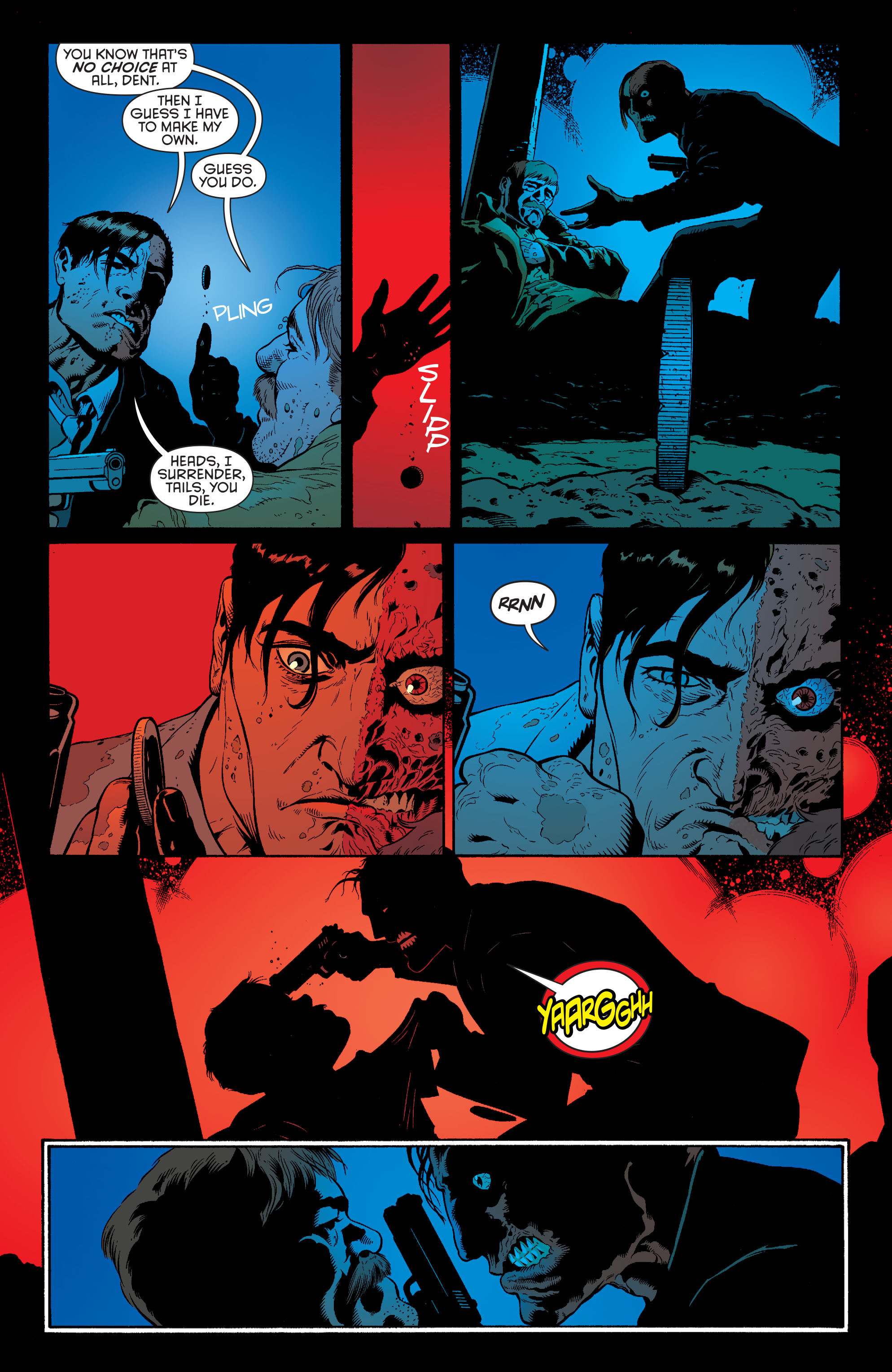 Read online Batman and Robin (2011) comic -  Issue #28 - Batman and Two-Face - 14