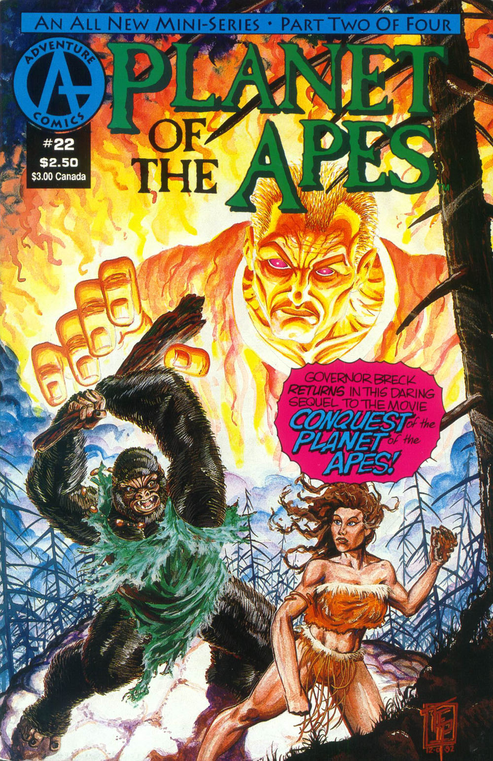 Planet of the Apes (1990) 22 Page 1