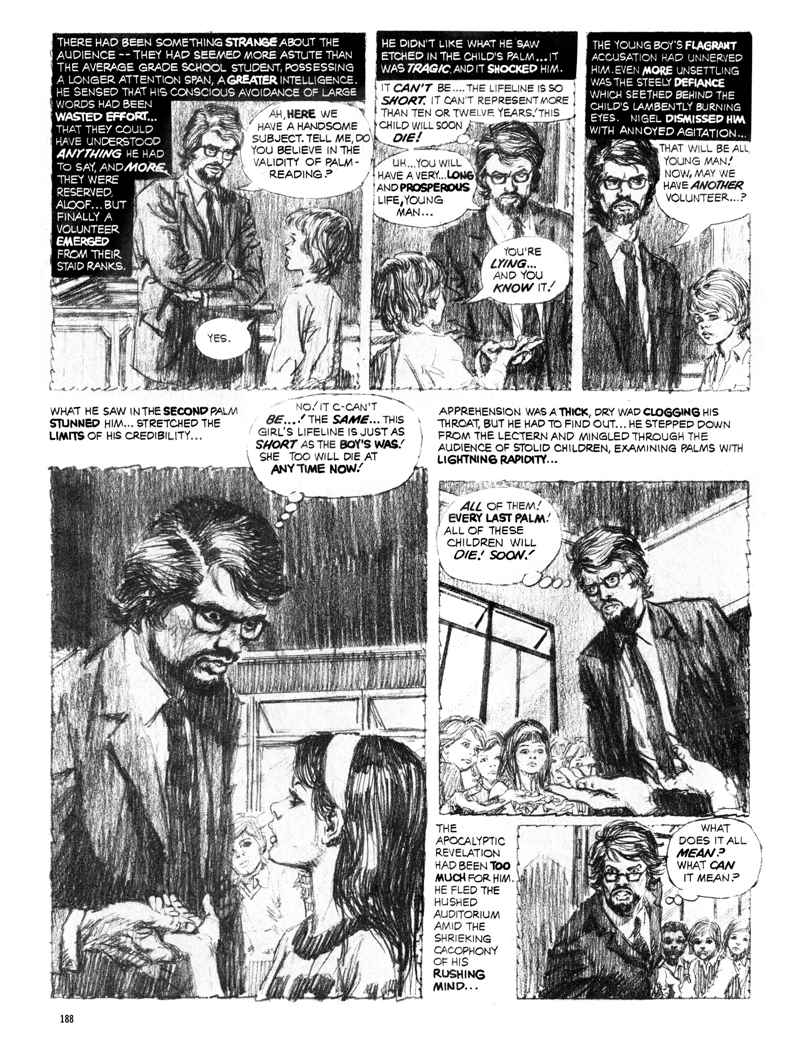 Read online Eerie Archives comic -  Issue # TPB 16 - 189
