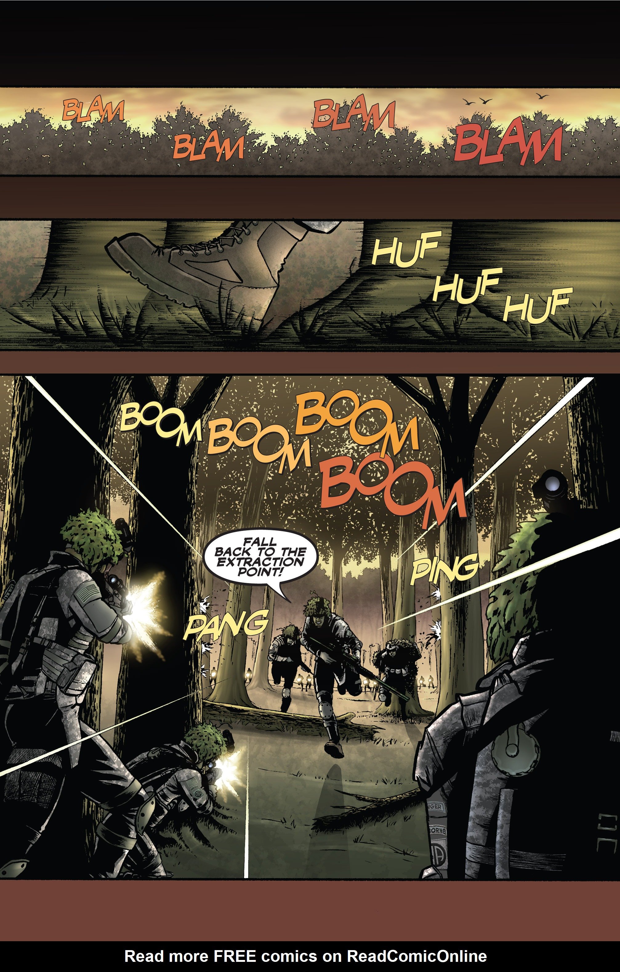 Read online America's Army comic -  Issue #1 - 3